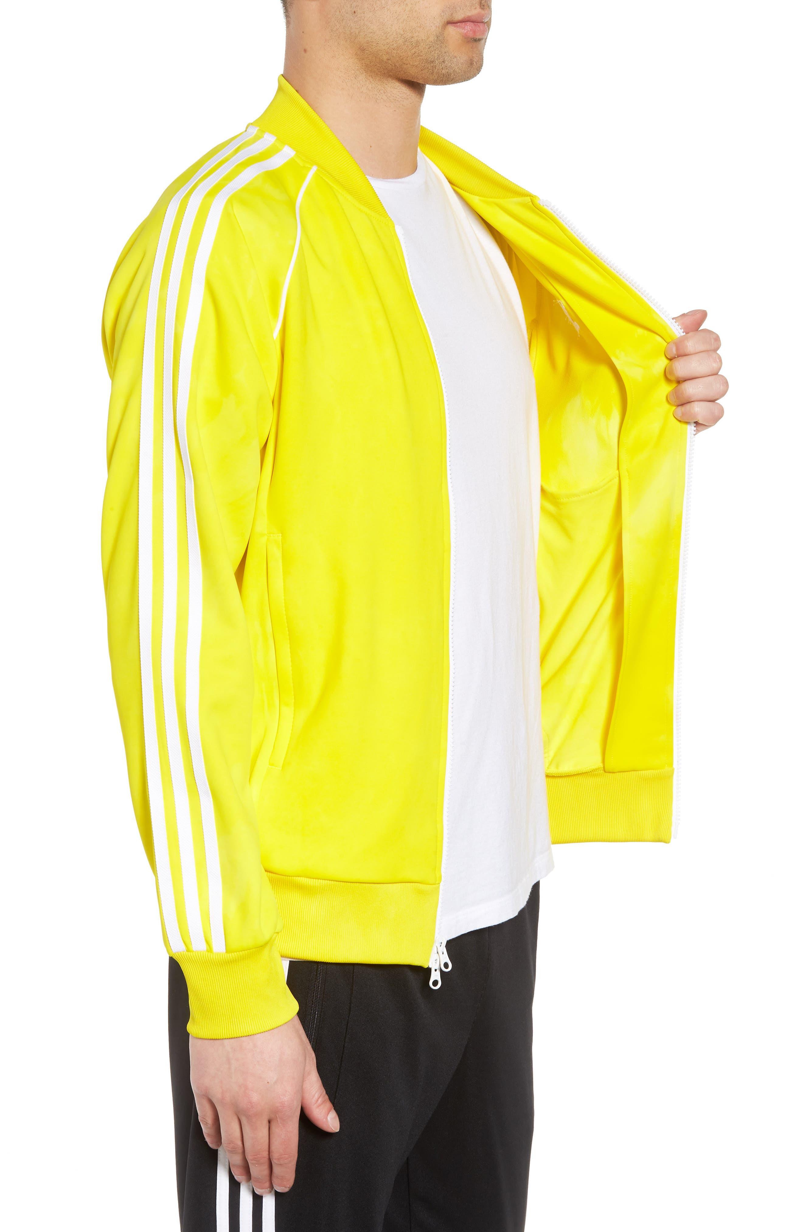 Hu Holi Track Jacket,                             Alternate thumbnail 3, color,                             Yellow