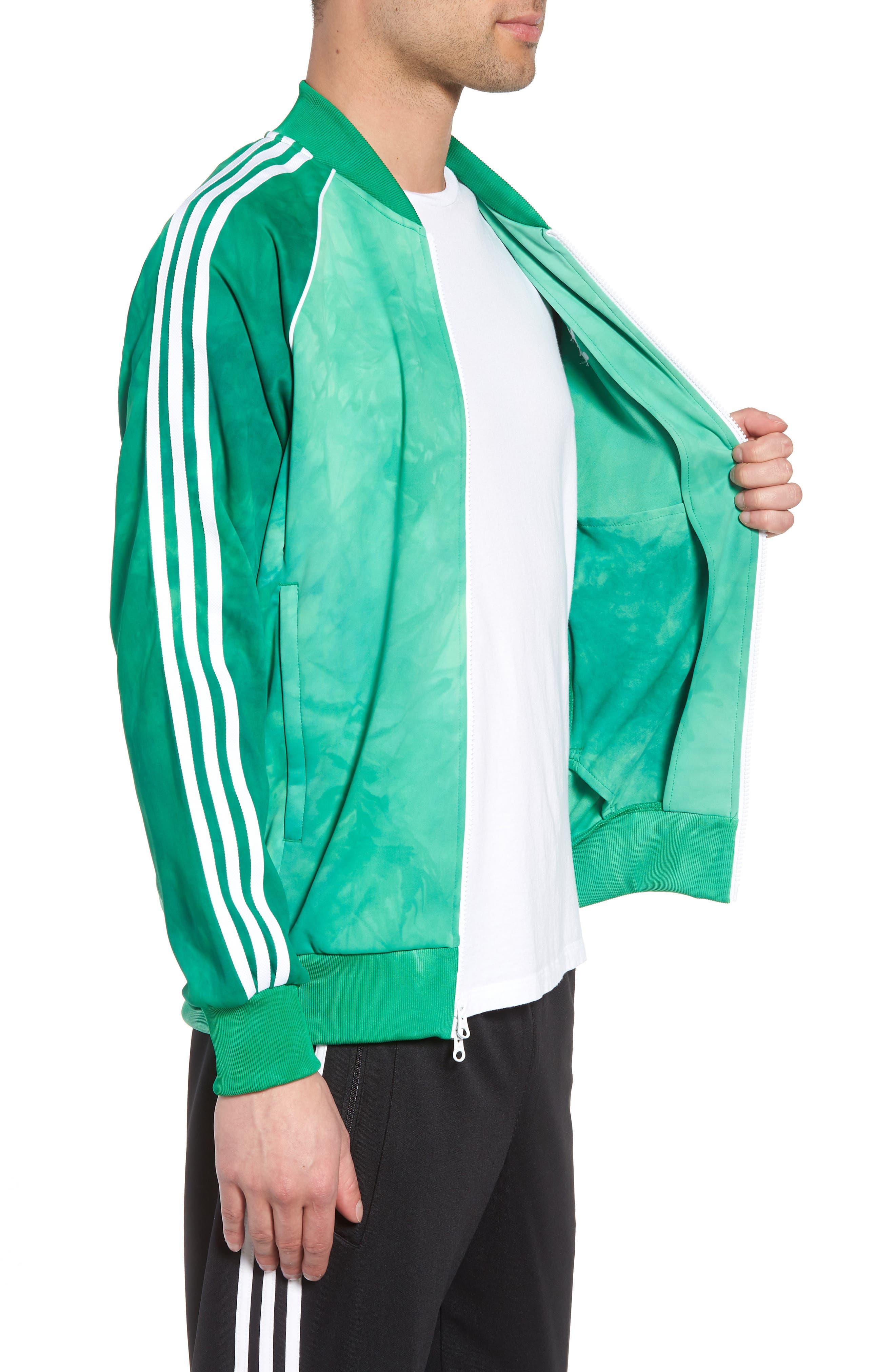 Hu Holi Track Jacket,                             Alternate thumbnail 3, color,                             Green