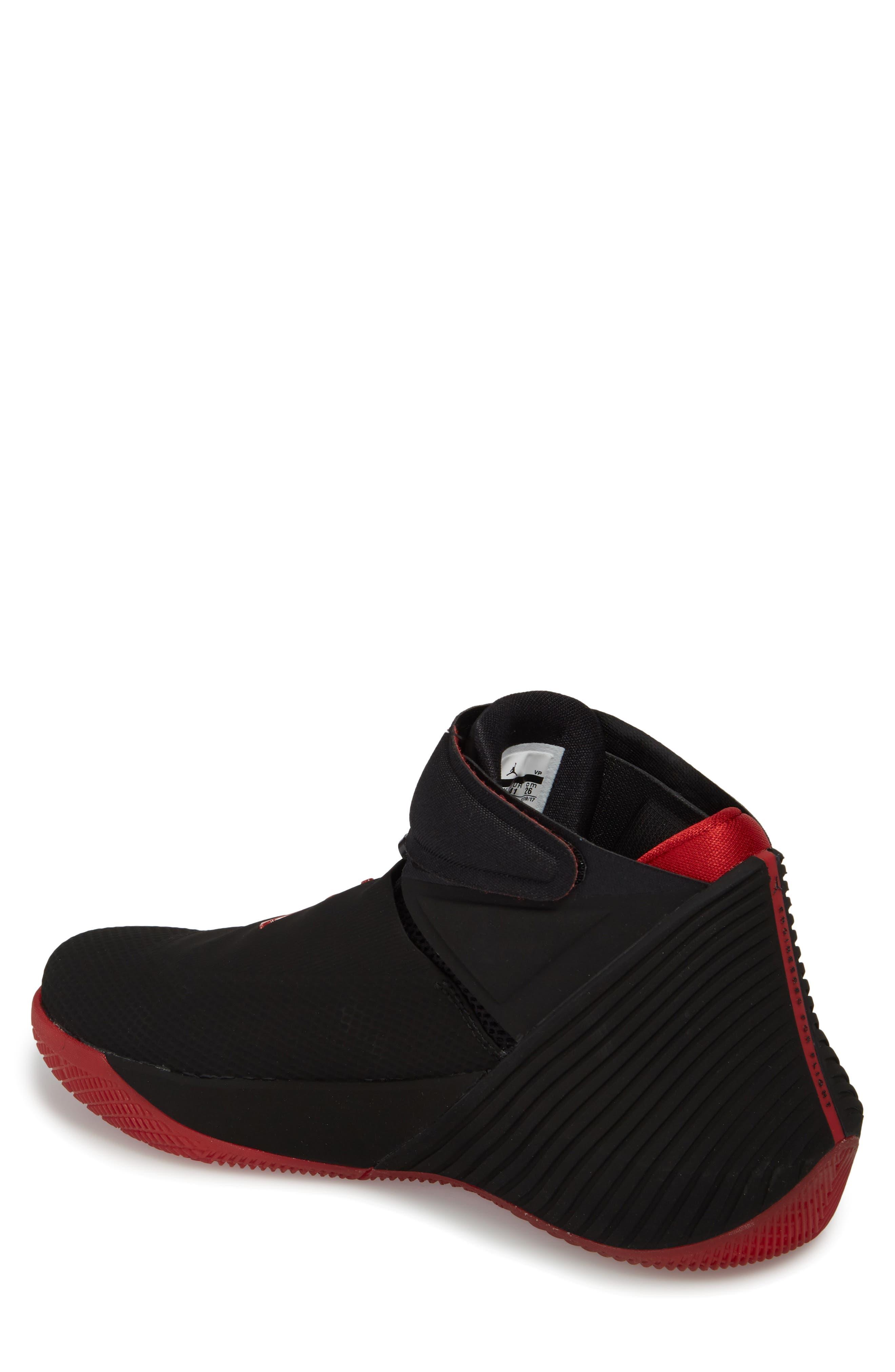 Jordan 'Why Not?' Zero.1 Basketball Shoe,                             Alternate thumbnail 2, color,                             Black/ Hyper Royal