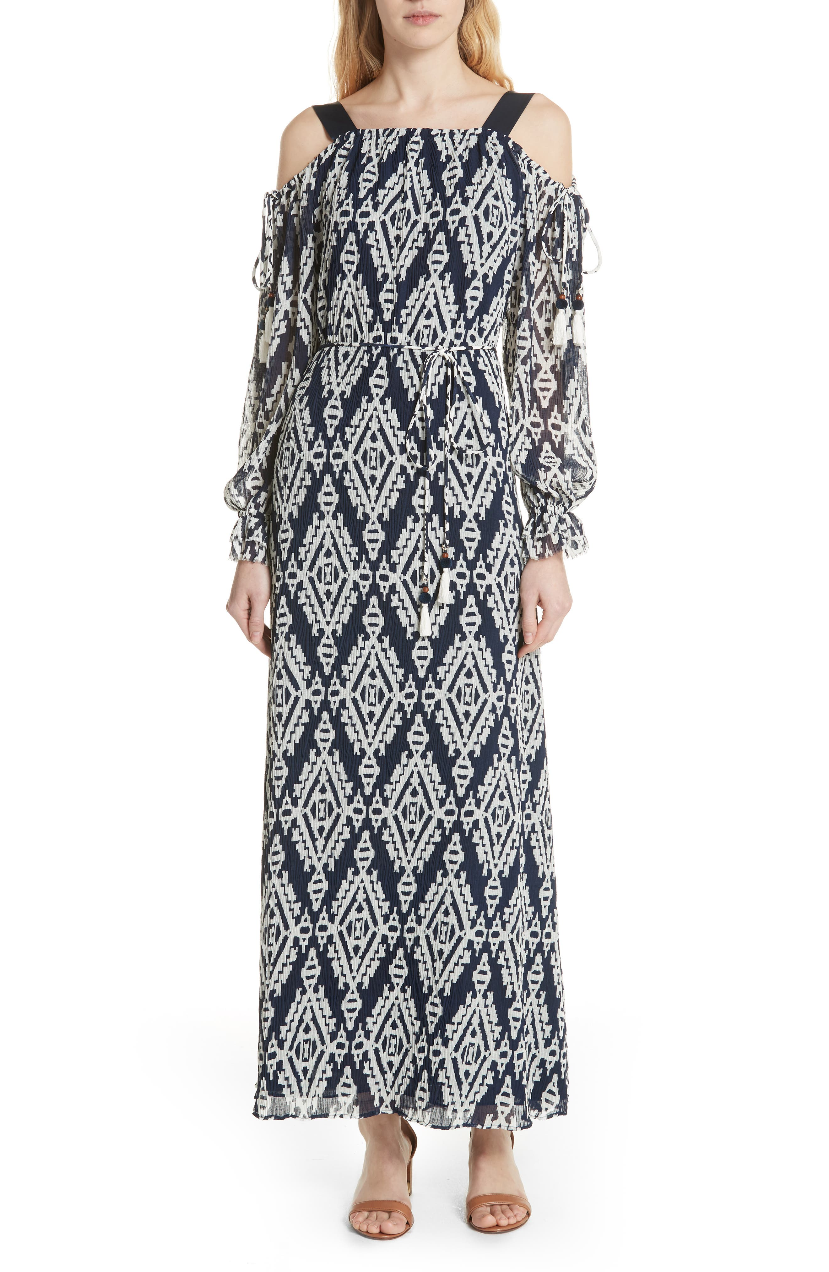 Katherine Maxi Dress,                         Main,                         color, Tapestry Geo