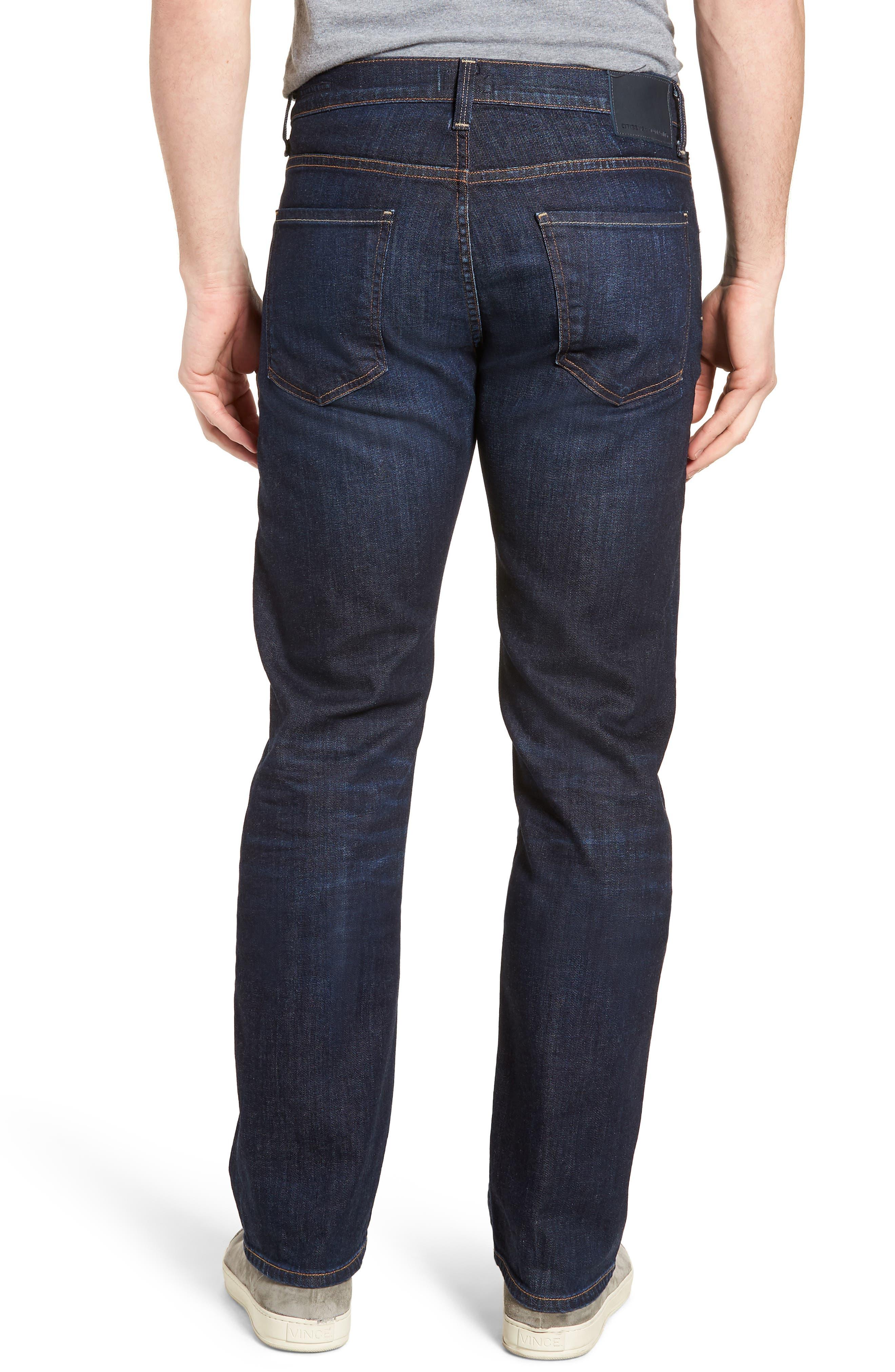 Sid Straight Leg Jeans,                             Alternate thumbnail 2, color,                             Emery