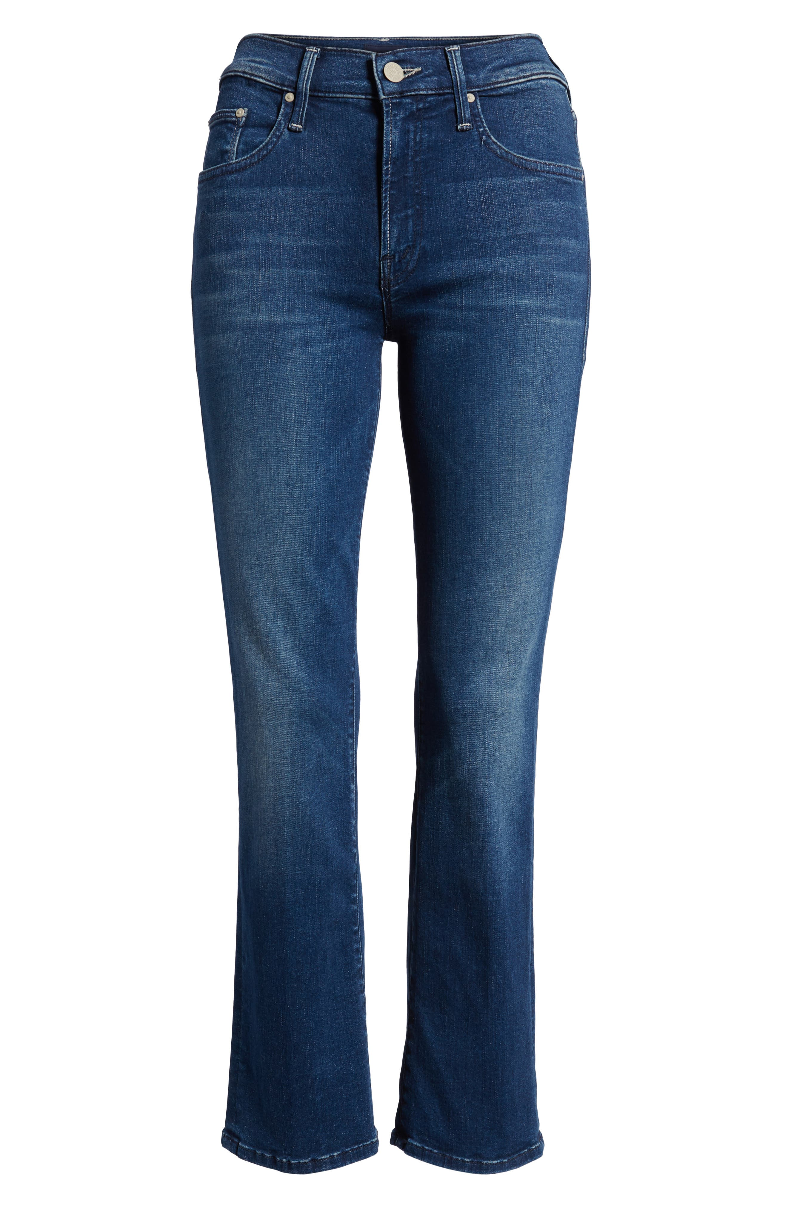 The Outsider Crop Bootcut Jeans,                             Alternate thumbnail 7, color,                             Fast Times