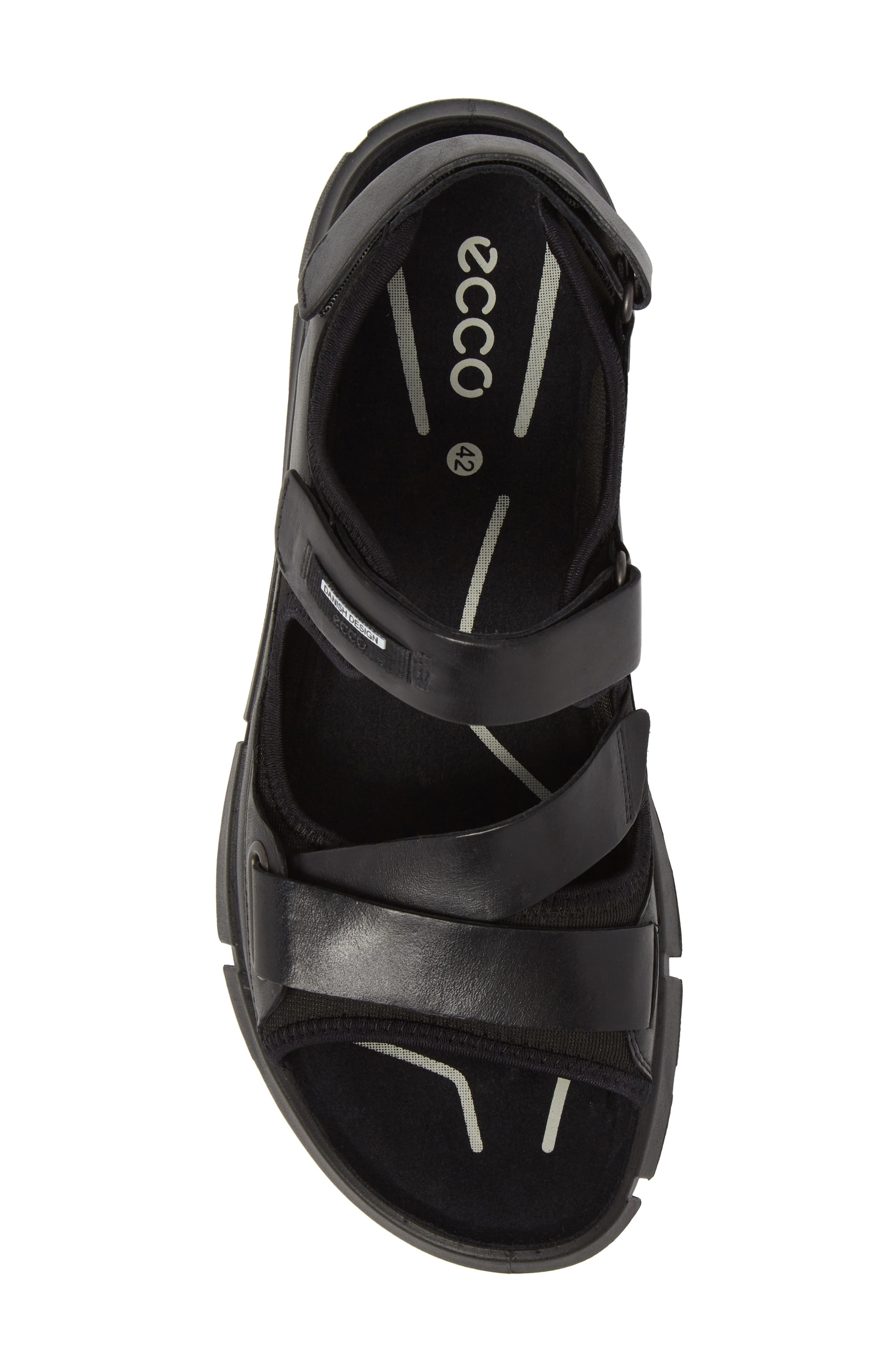 Intrinsic 2 Sandal,                             Alternate thumbnail 5, color,                             Black Leather