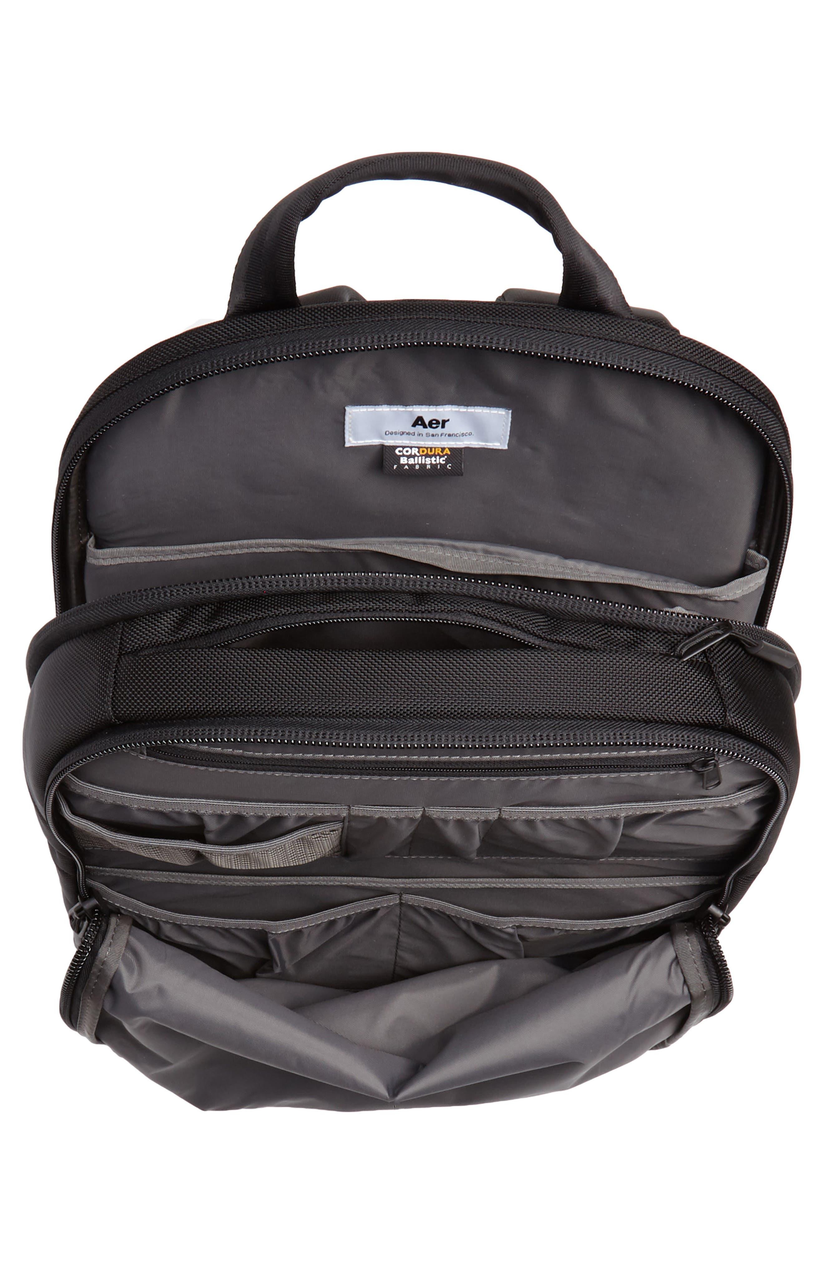 Work Day Backpack,                             Alternate thumbnail 4, color,                             Black