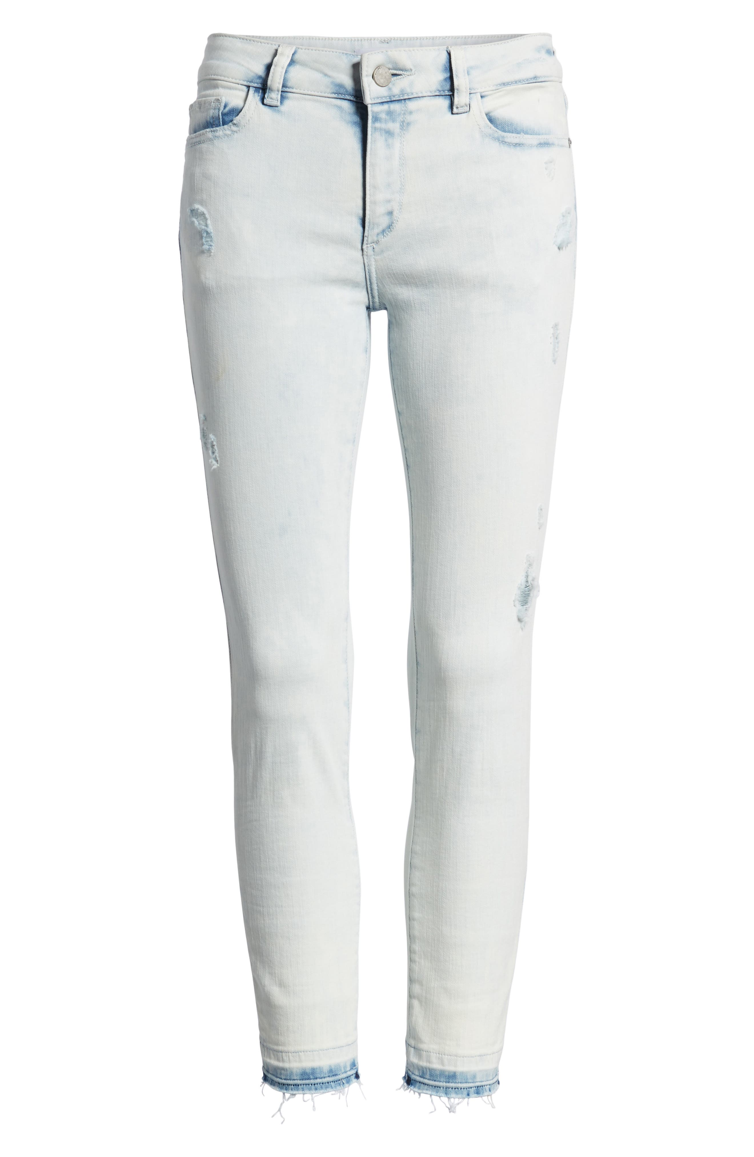 Florence Instasculpt Crop Skinny Jeans,                             Alternate thumbnail 6, color,                             Mitchell