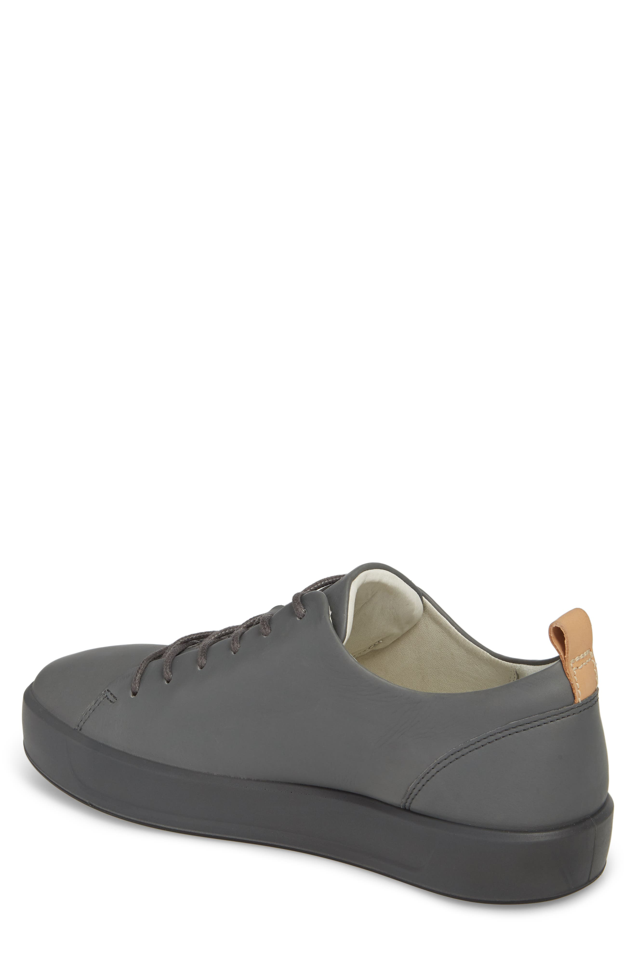 Soft 8 Low Top Sneaker,                             Alternate thumbnail 2, color,                             Urban Grey Leather