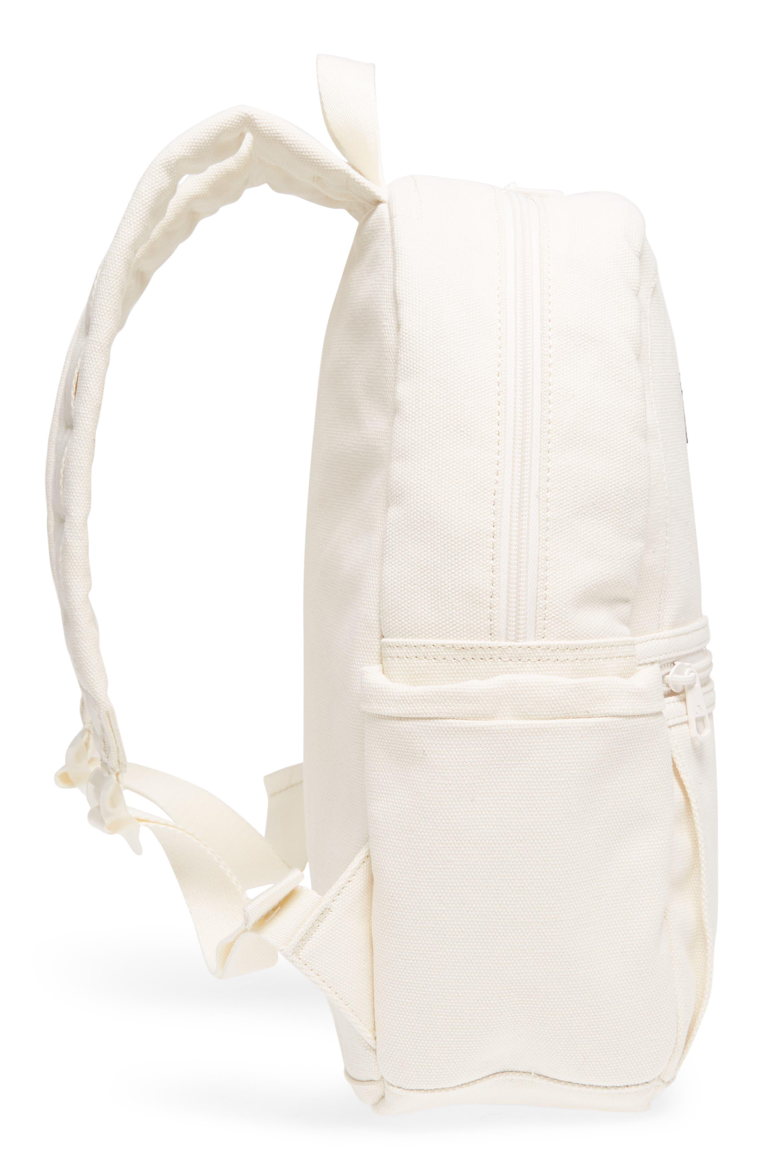 Kensington Kane Canvas Backpack,                             Alternate thumbnail 5, color,                             Natural