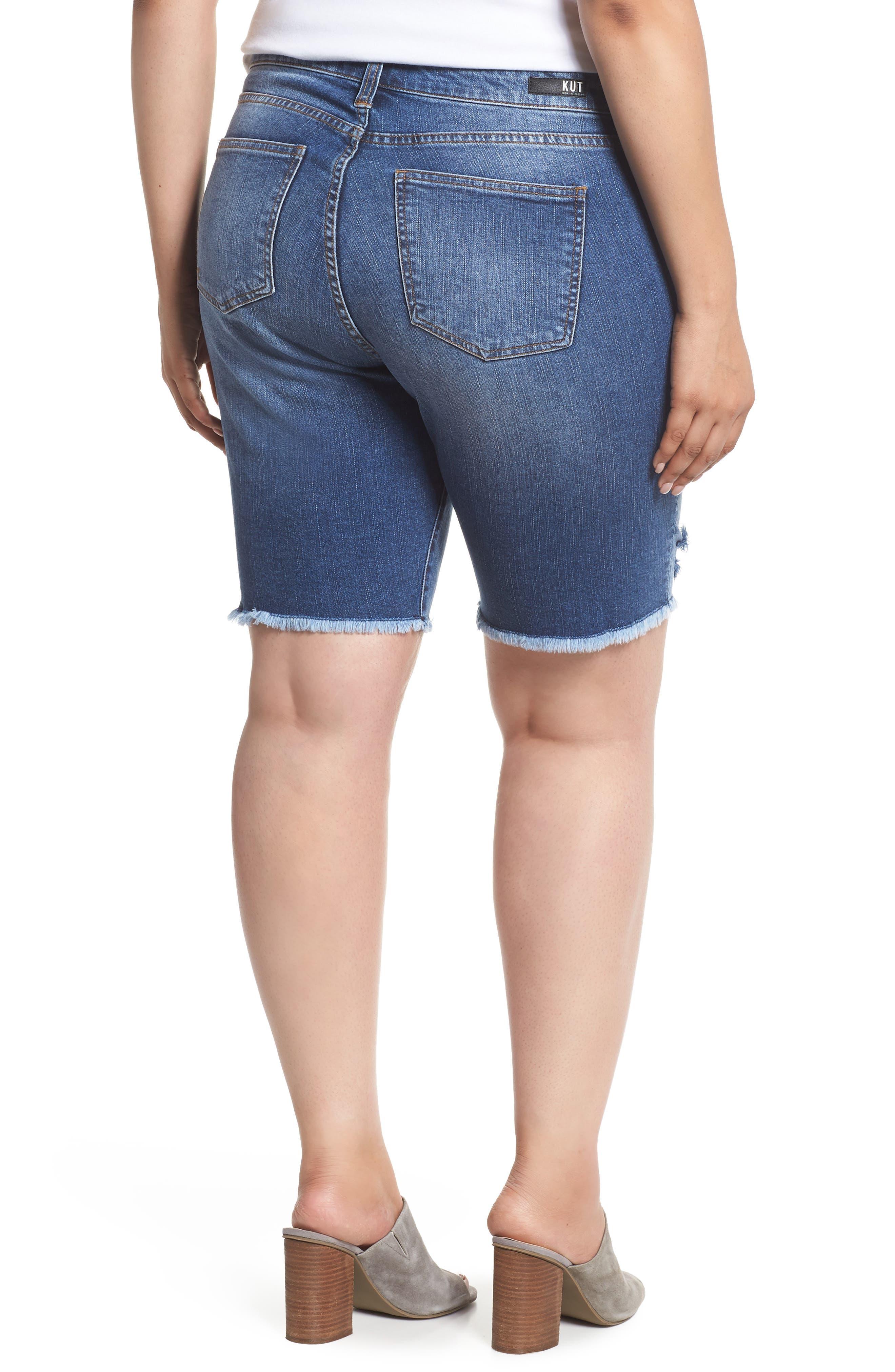 Sophie Bermuda Shorts,                             Alternate thumbnail 2, color,                             Comrade