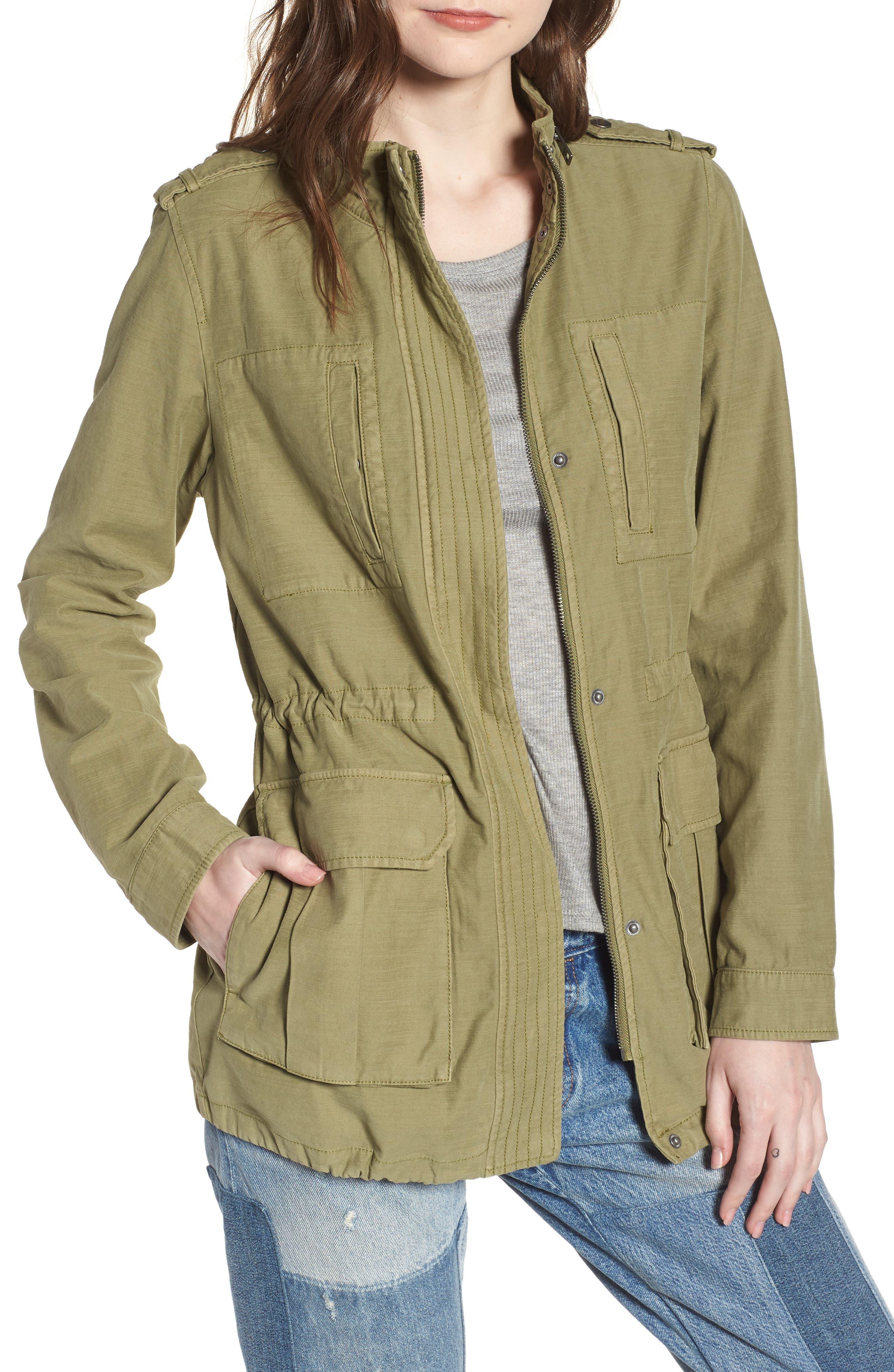 Alternate Image 1 Selected - Levi's® Cotton 4-Pocket Jacket (Regular & Petite)