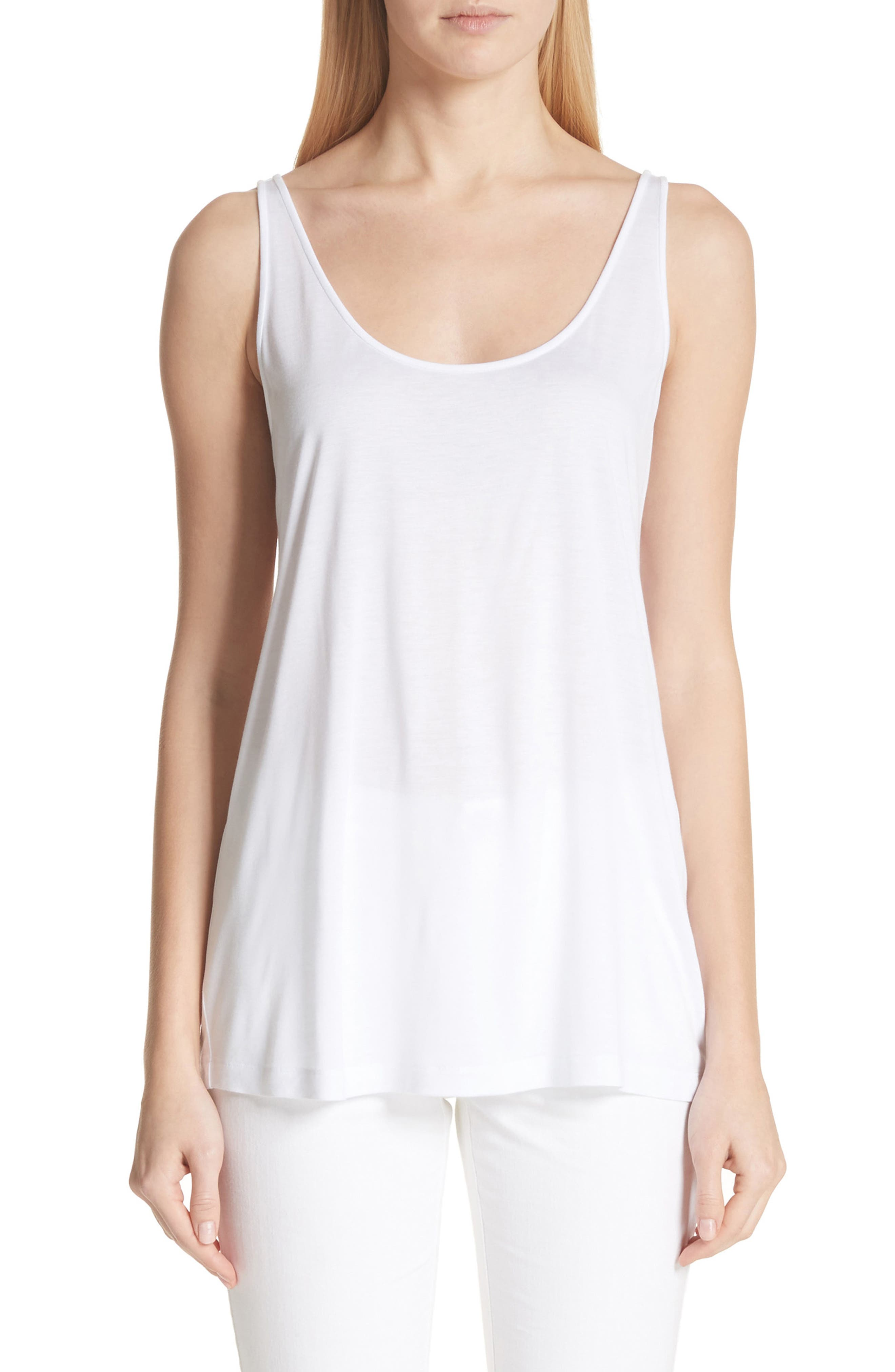 Ivy Tank Top,                             Main thumbnail 1, color,                             White