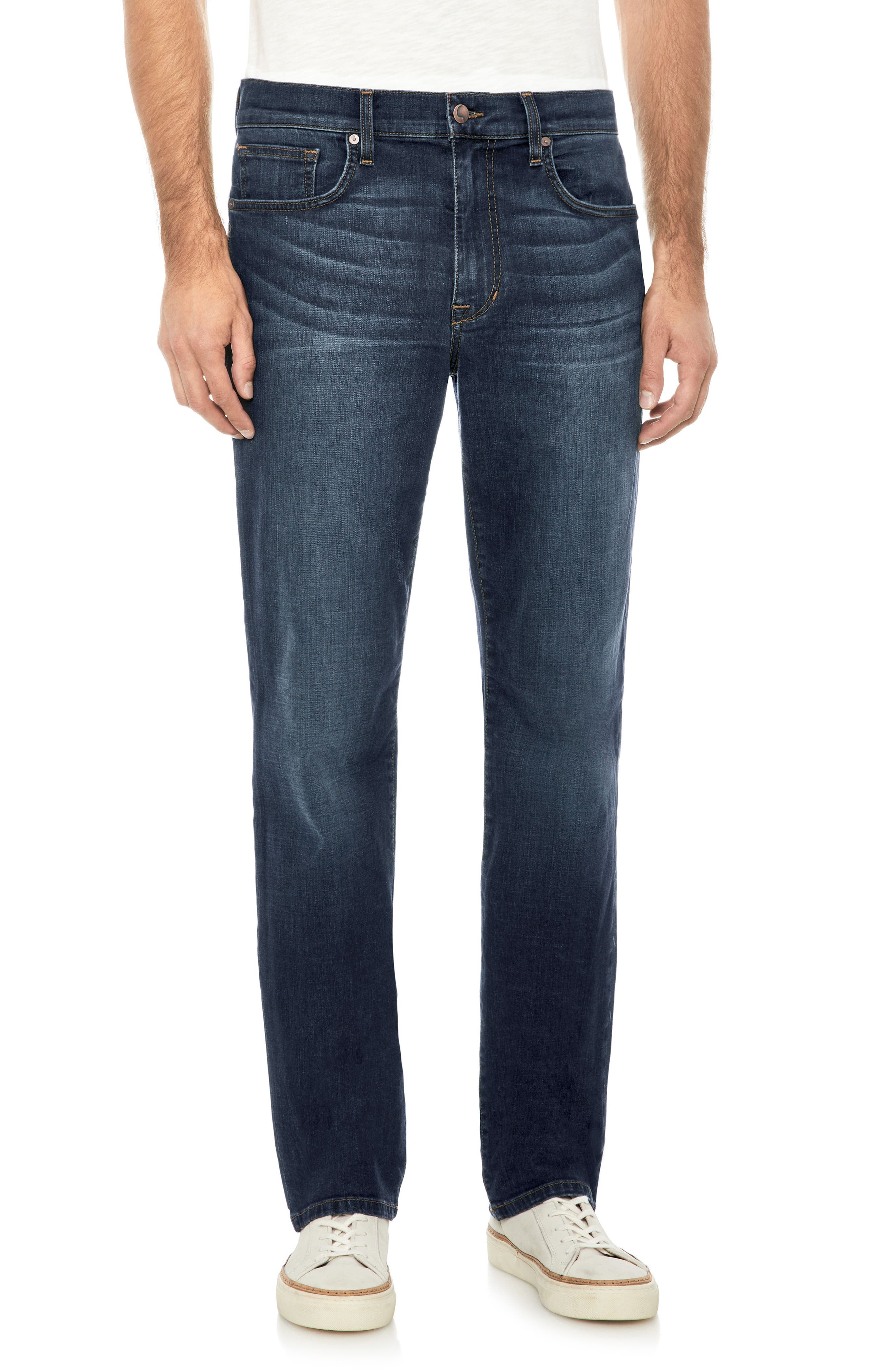 Classic Straight Fit Jeans,                             Main thumbnail 1, color,                             Pedro