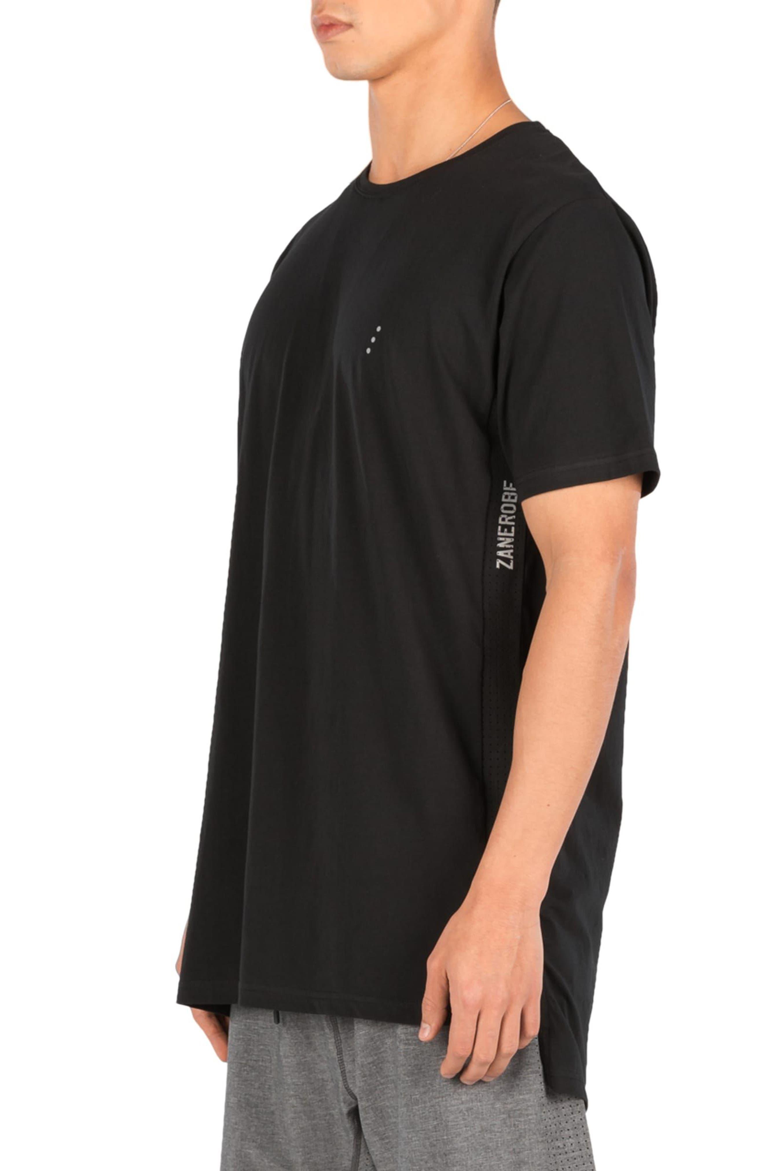 Flintlock Performance T-Shirt,                             Alternate thumbnail 4, color,                             Black