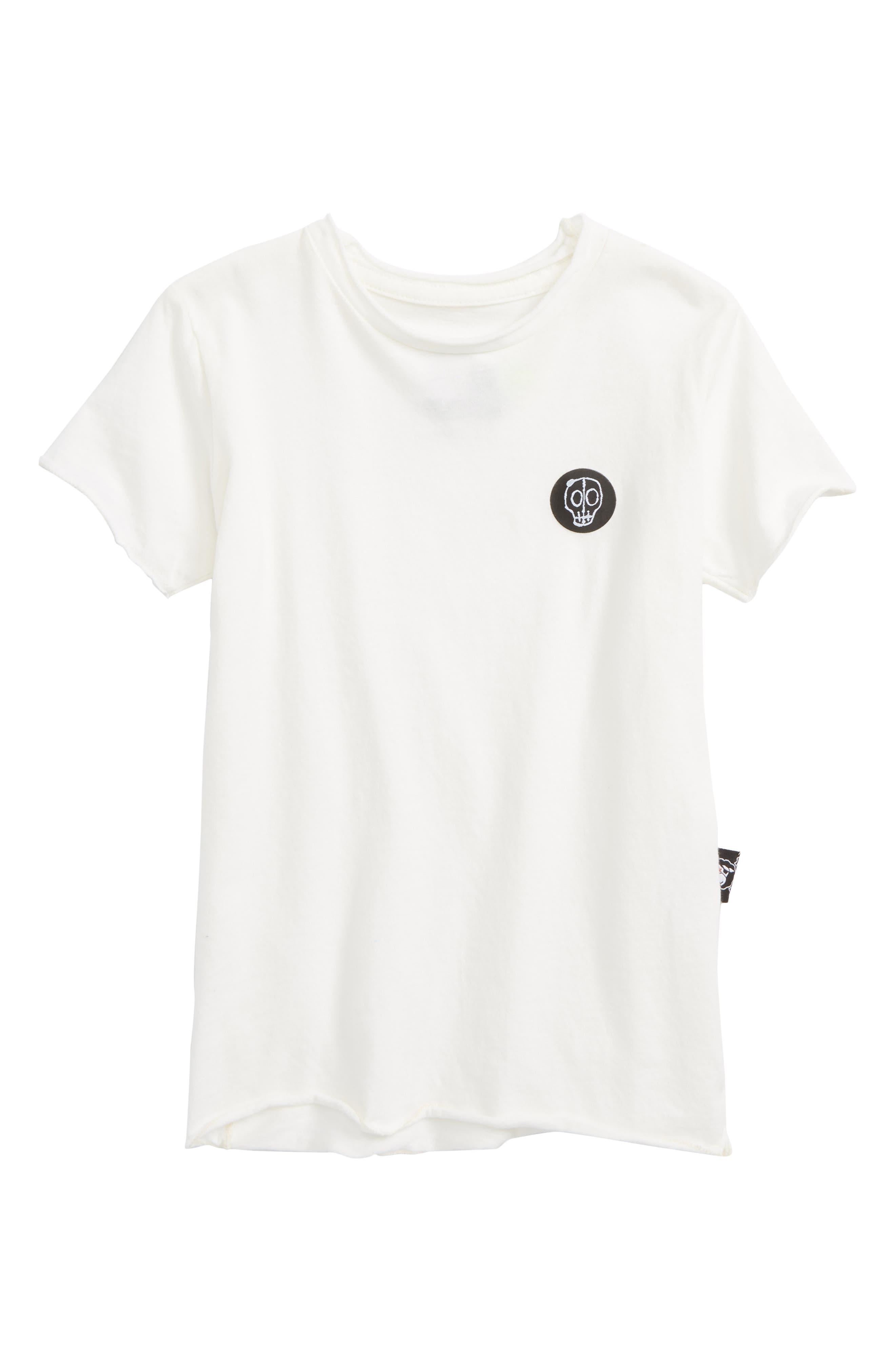 Alternate Image 1 Selected - Nununu Logo Patch T-Shirt (Toddler Boys, Little Boys & Big Boys)