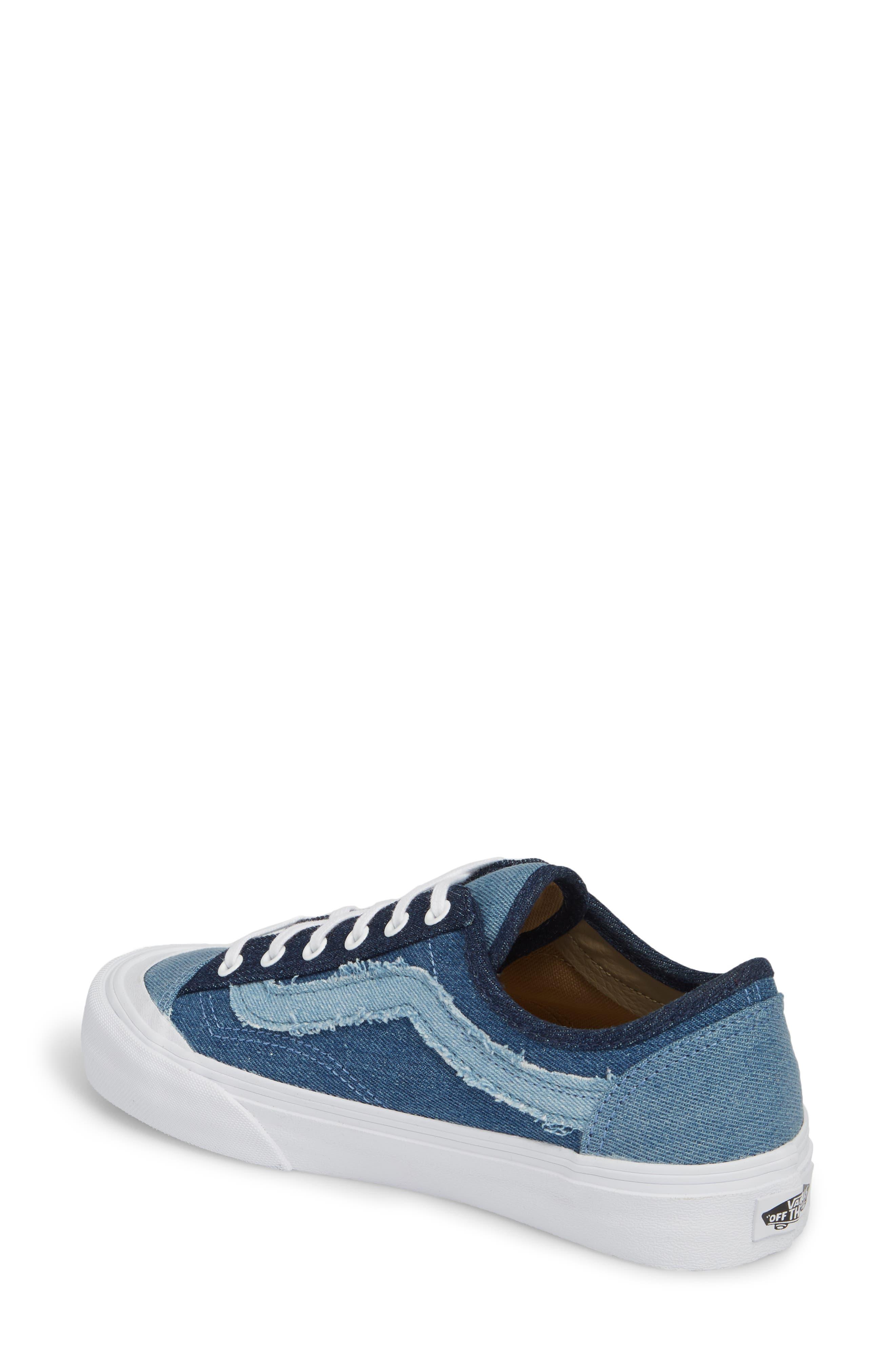 Style 36 Decon Sneaker,                             Alternate thumbnail 2, color,                             Frayed Denim