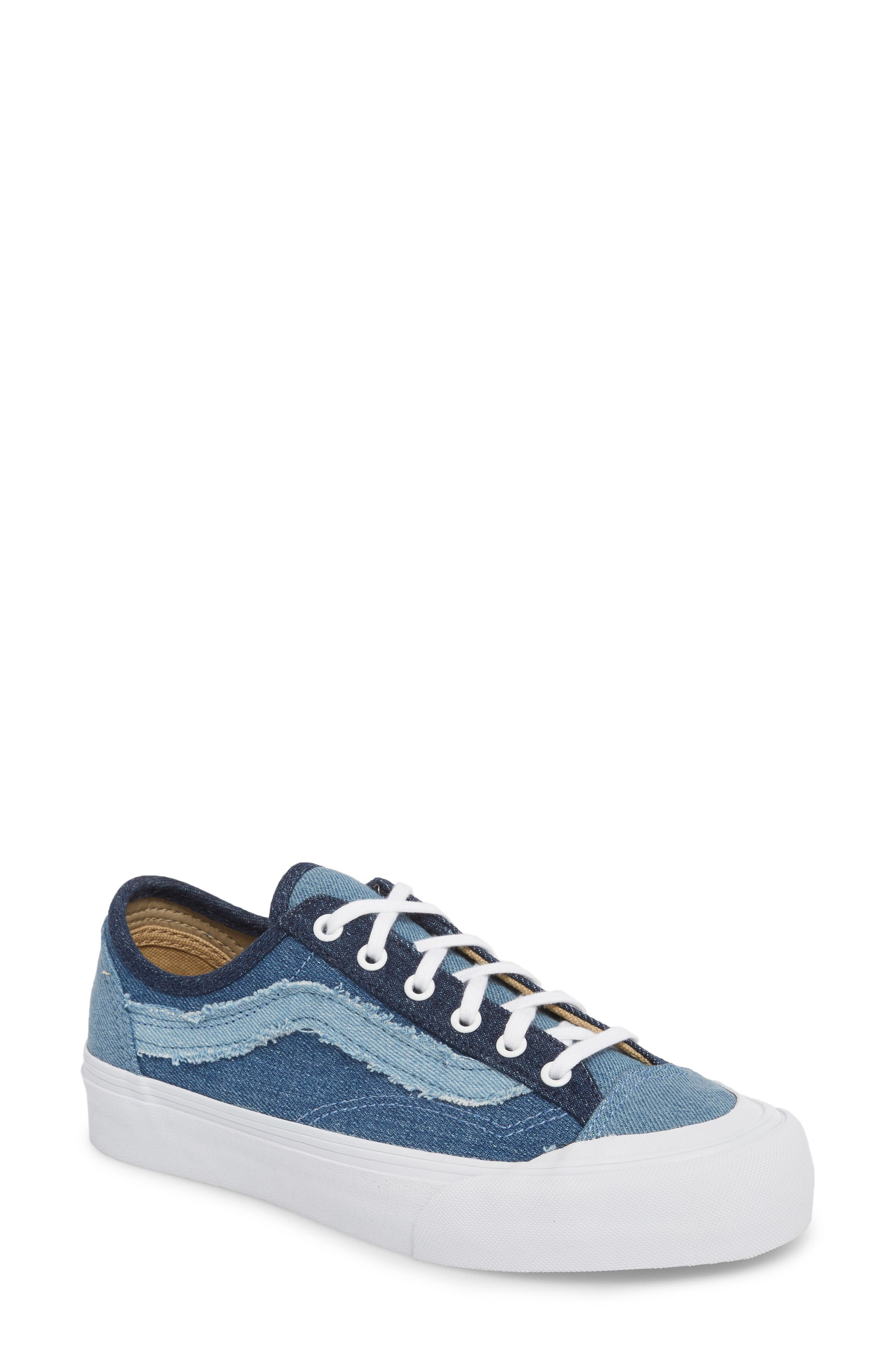 Style 36 Decon Sneaker,                         Main,                         color, Frayed Denim