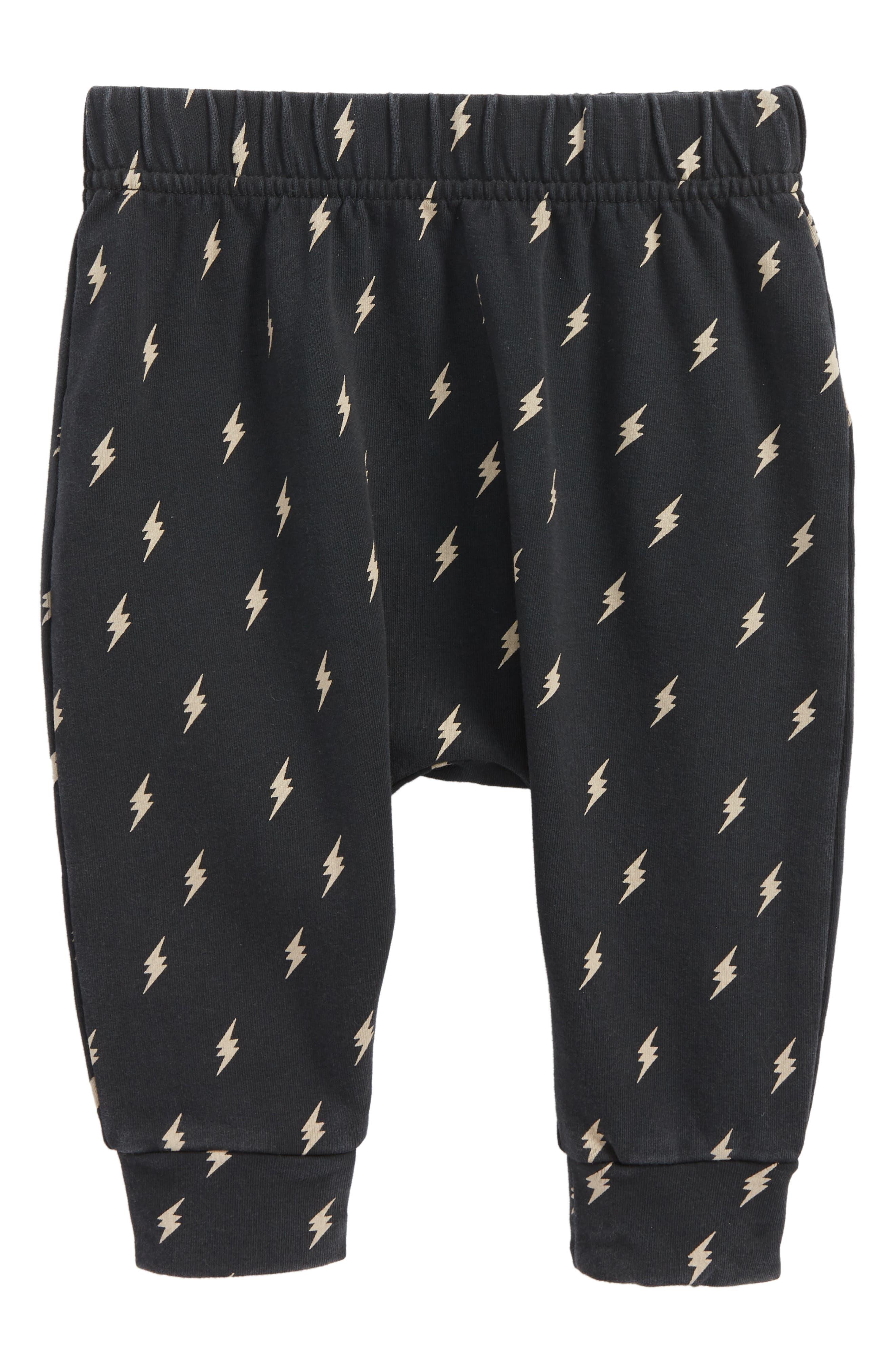 Thunderstruck Jogger Pants,                             Main thumbnail 1, color,                             Black