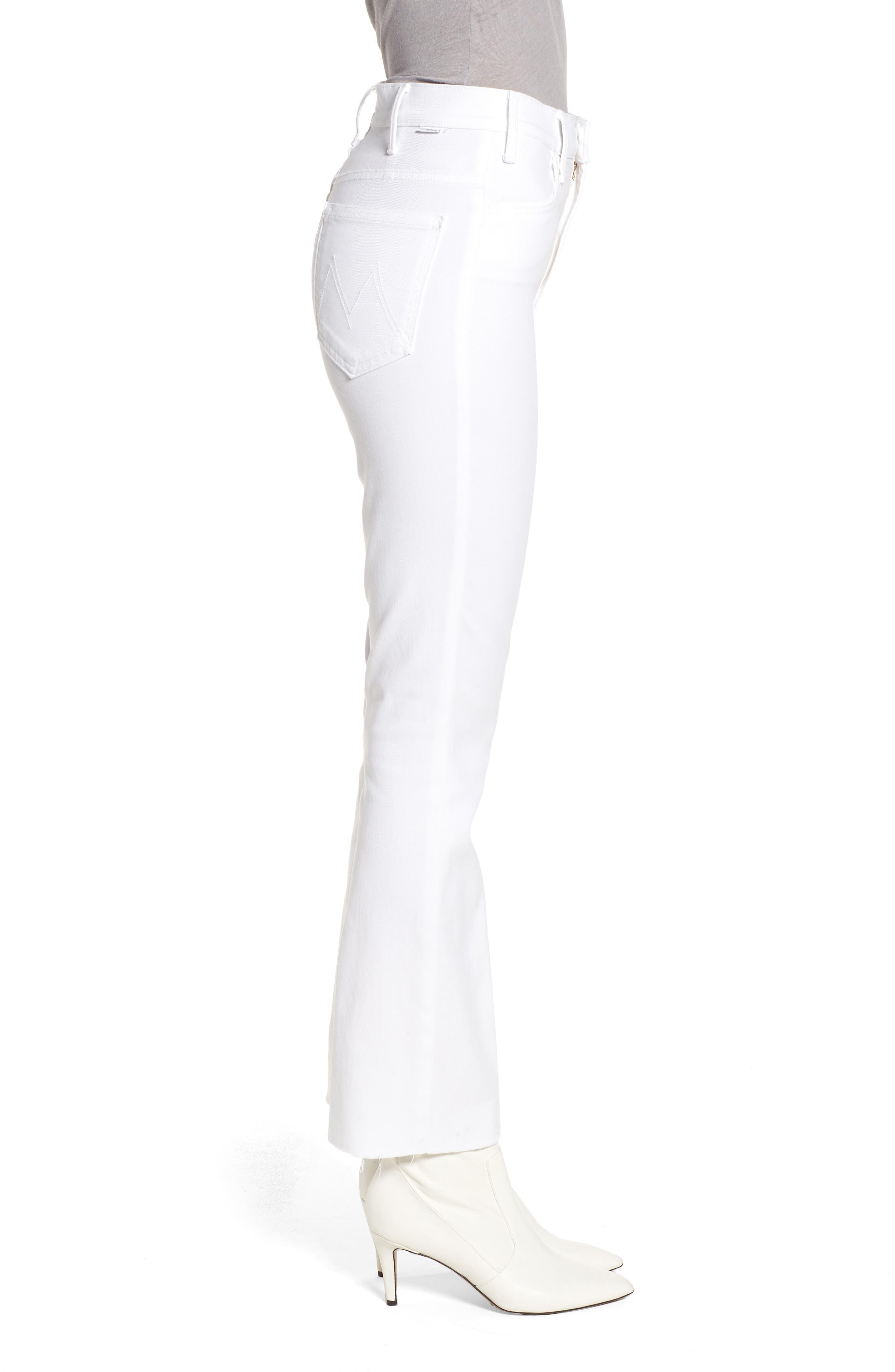 Alternate Image 3  - MOTHER The Hustler Fray Ankle Bootcut Jeans (Glass Slipper)