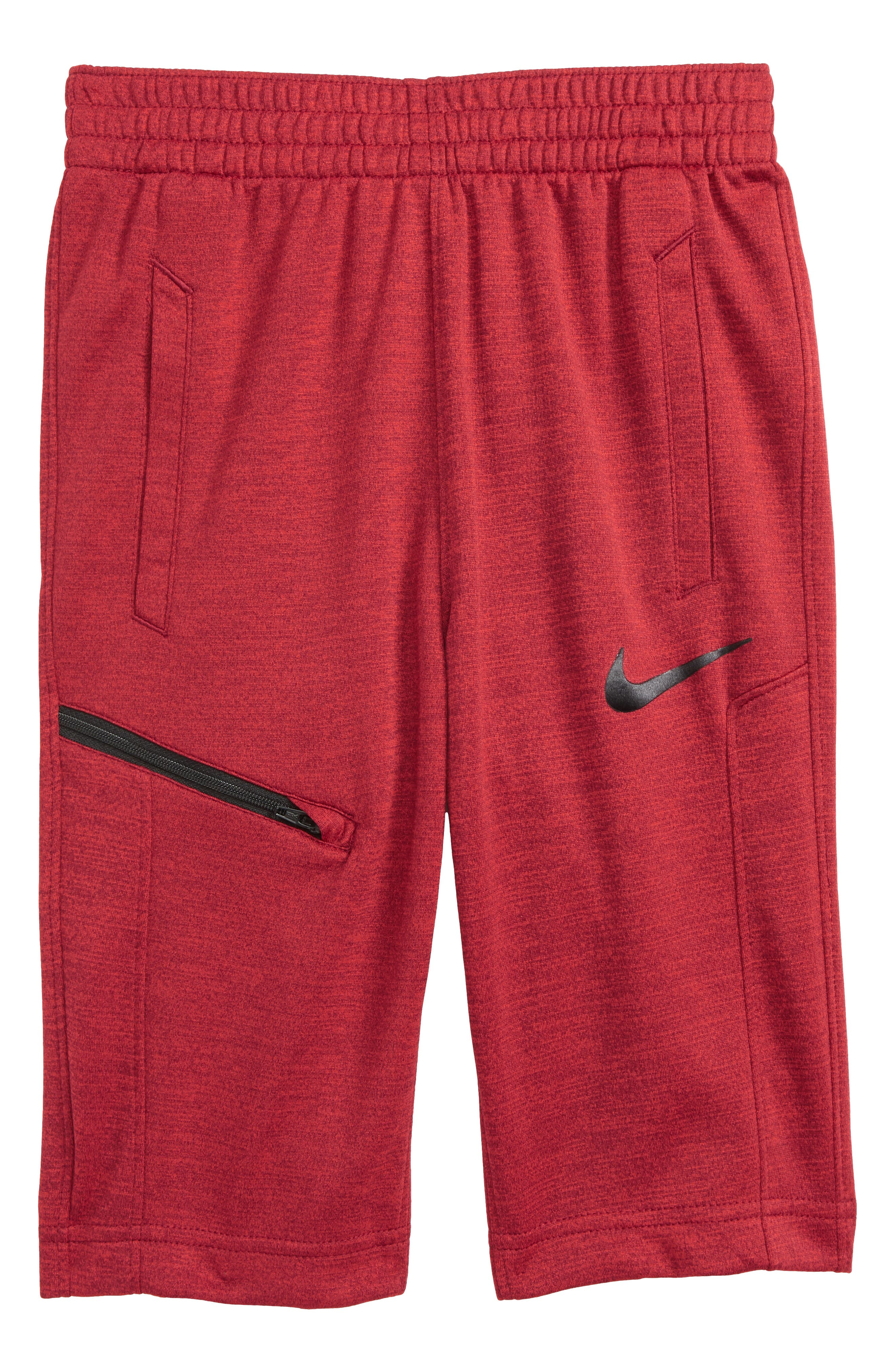 Hangtime Shorts,                         Main,                         color, University Red/ Black