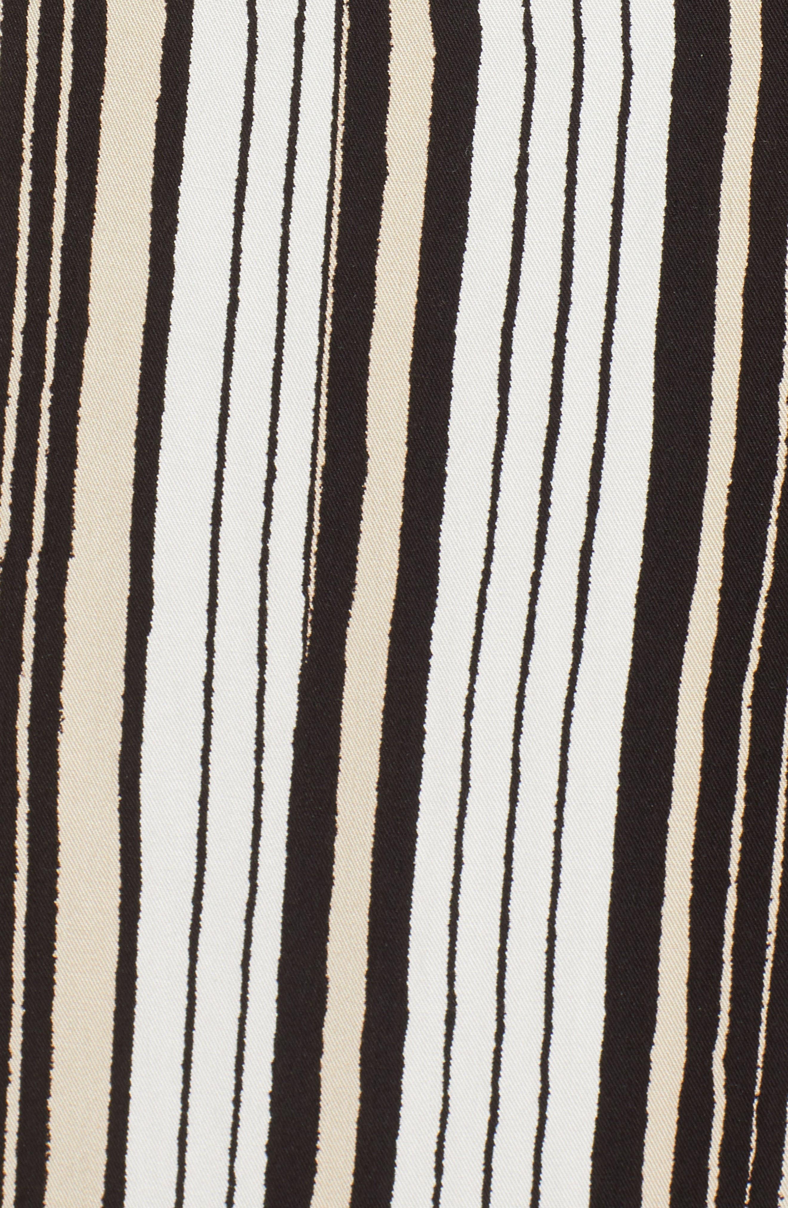 Corin Stripe Maxi Dress,                             Alternate thumbnail 6, color,                             Ivory