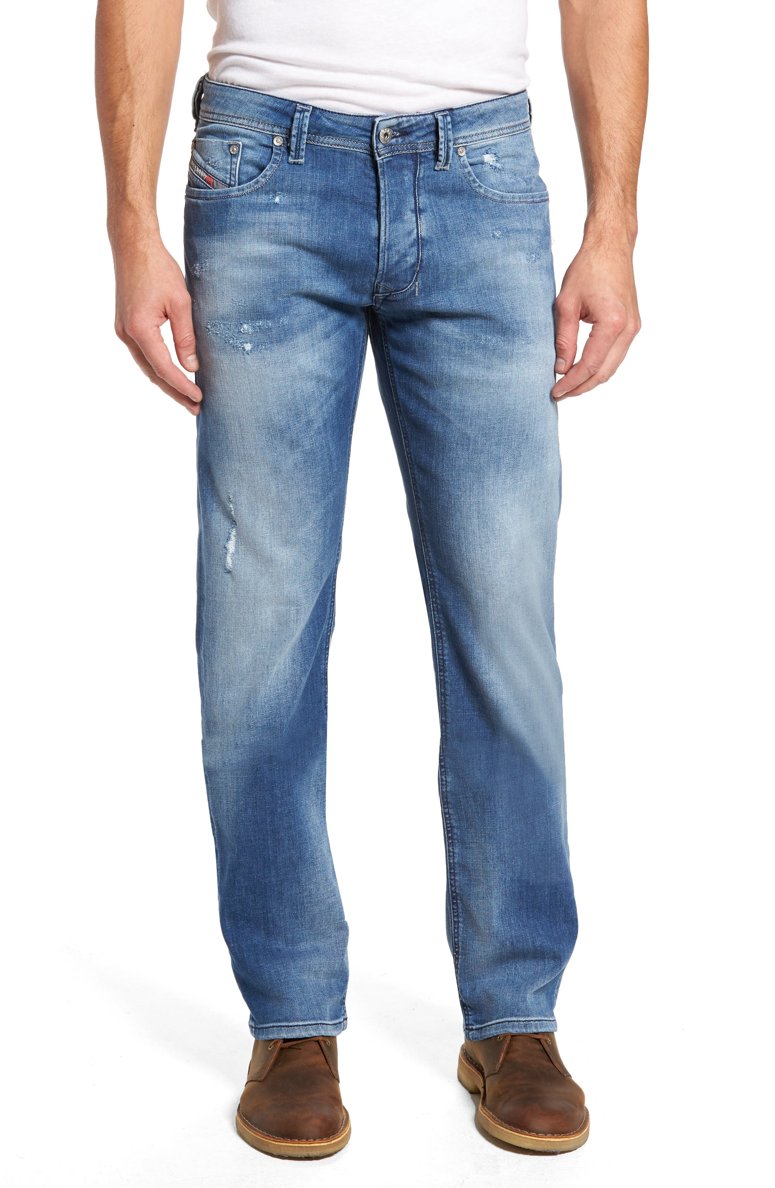 Larkee Relaxed Fit Jeans,                             Main thumbnail 1, color,                             084Qg