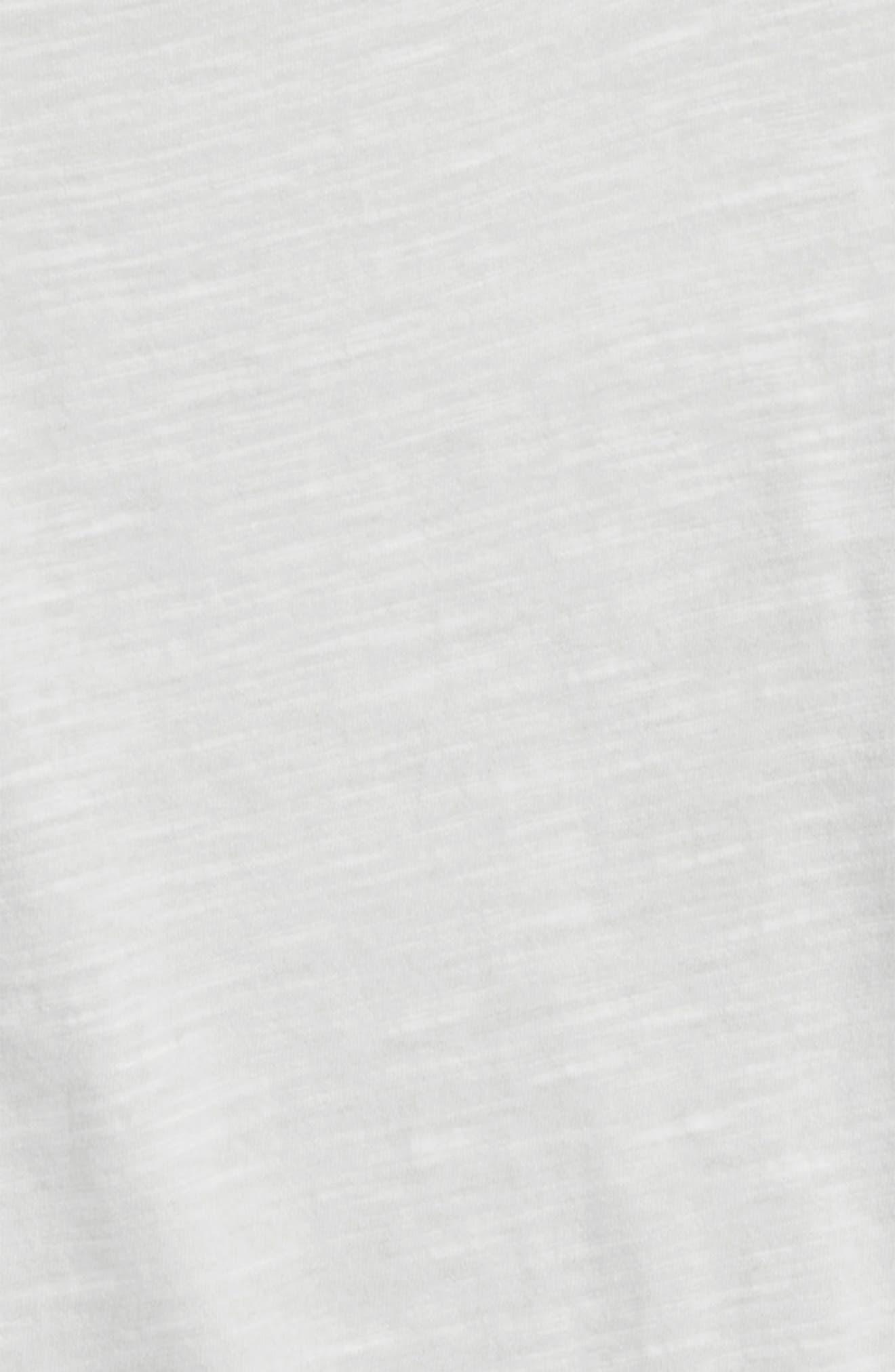 Raw Hem Dolman Tee,                             Alternate thumbnail 2, color,                             Grey Lunar