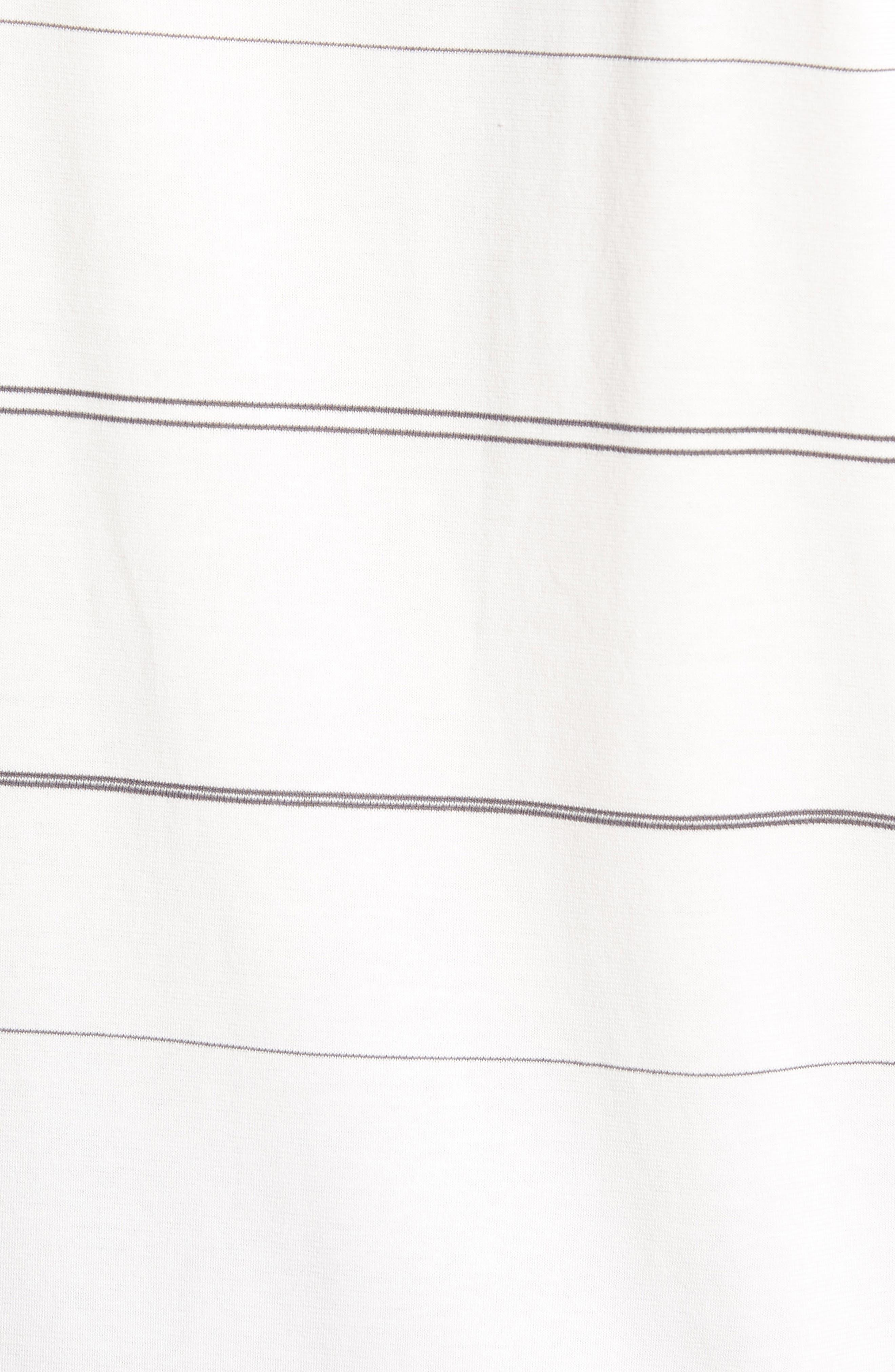 Dri-FIT New Wave T-Shirt,                             Alternate thumbnail 5, color,                             Summit White