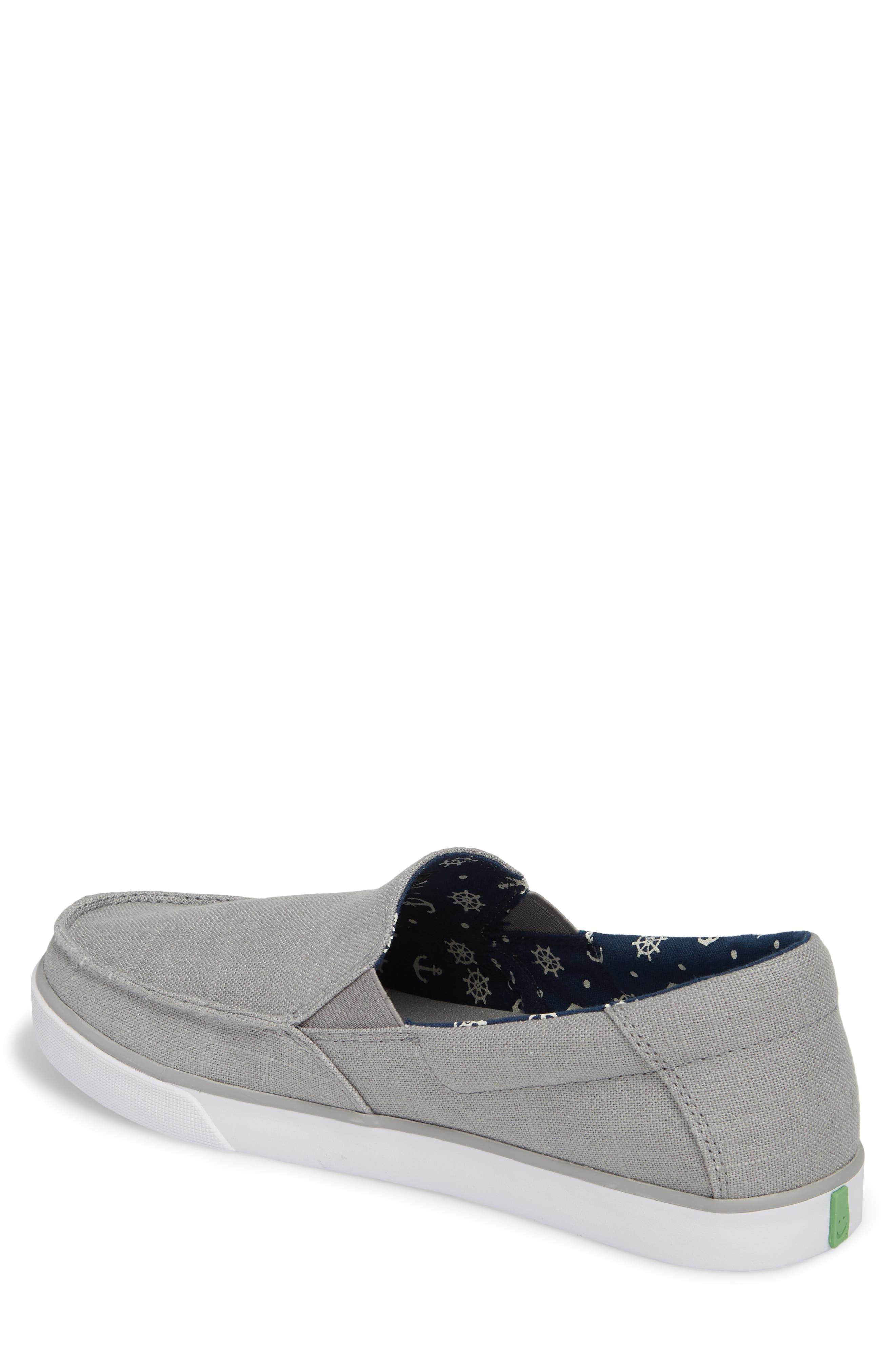 Sideline Linen Slip-On,                             Alternate thumbnail 2, color,                             Grey