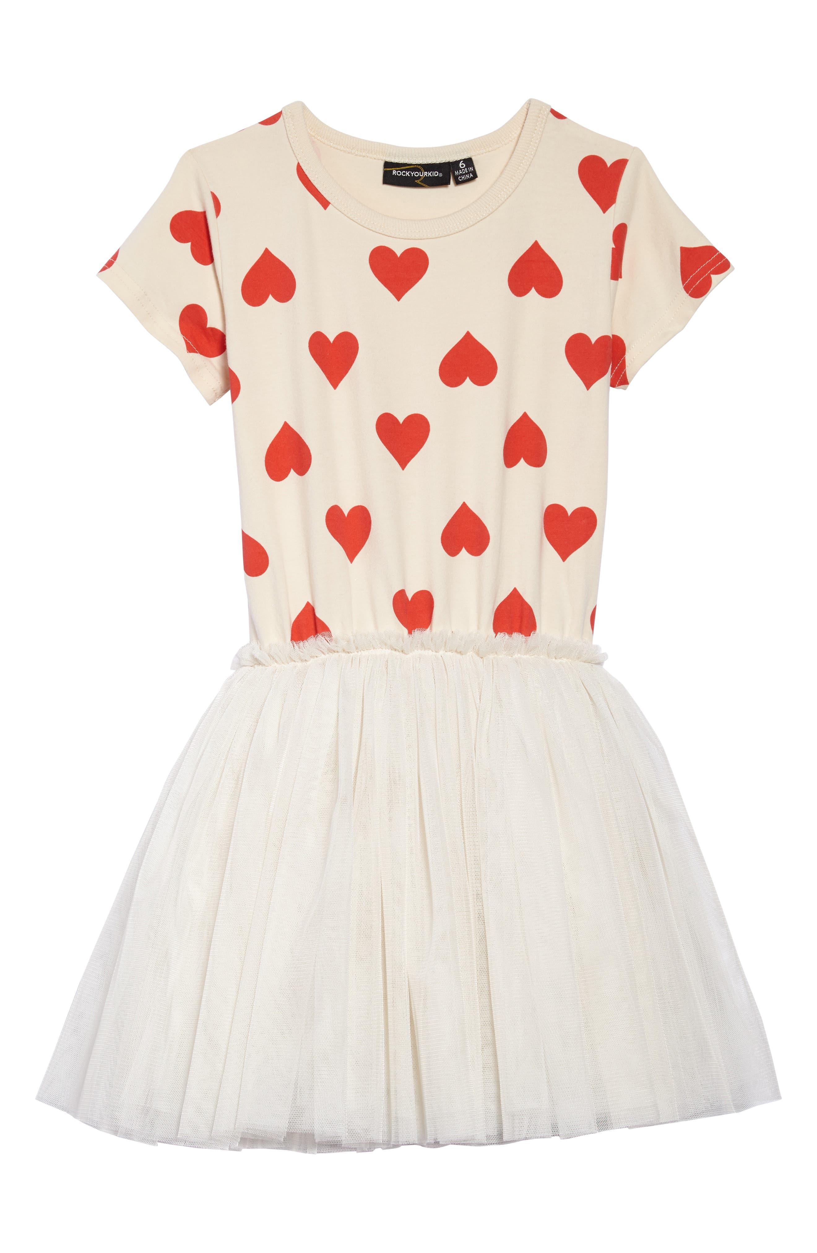 Rock Your Kid Sweetheart Circus Dress (Toddler Girls & Little Girls)