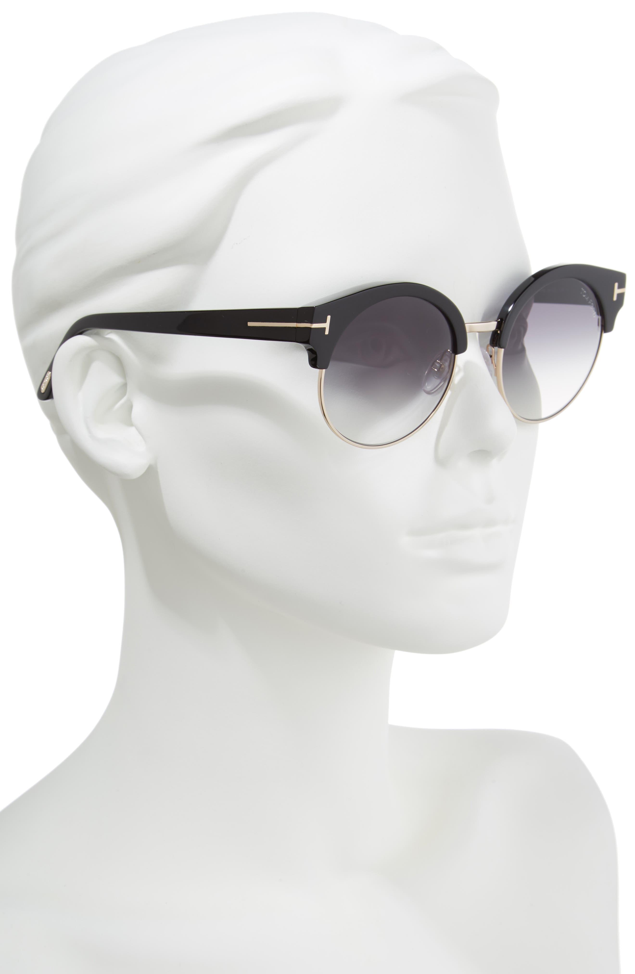 Alternate Image 2  - Tom Ford Alissa 54mm Sunglasses