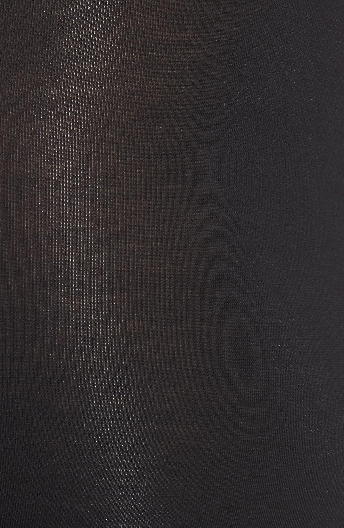 Cool Cotton Trunks,                             Alternate thumbnail 3, color,                             Black/ Iron Grey
