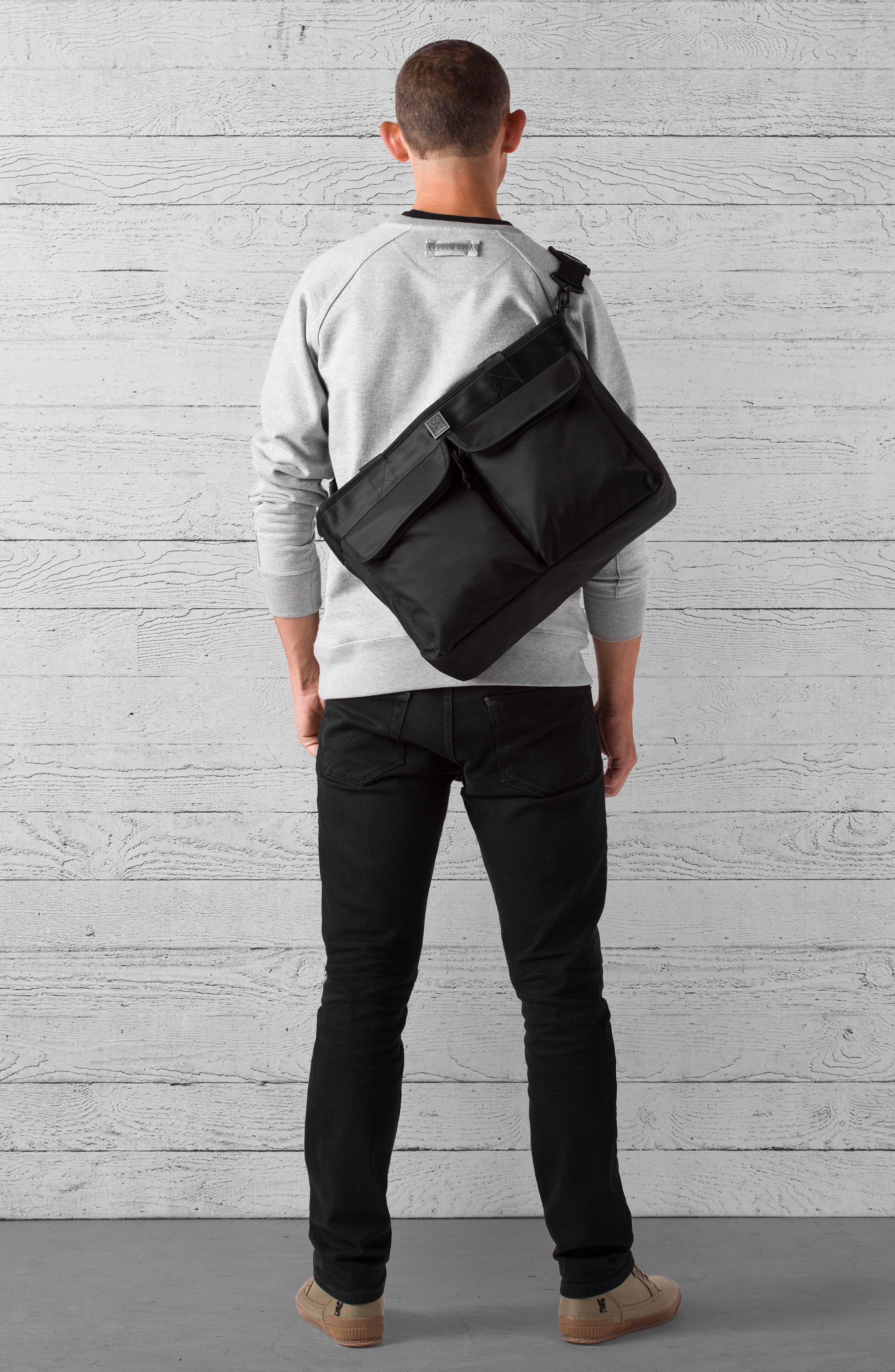 Juno Travel Tote Bag,                             Alternate thumbnail 6, color,                             All Black