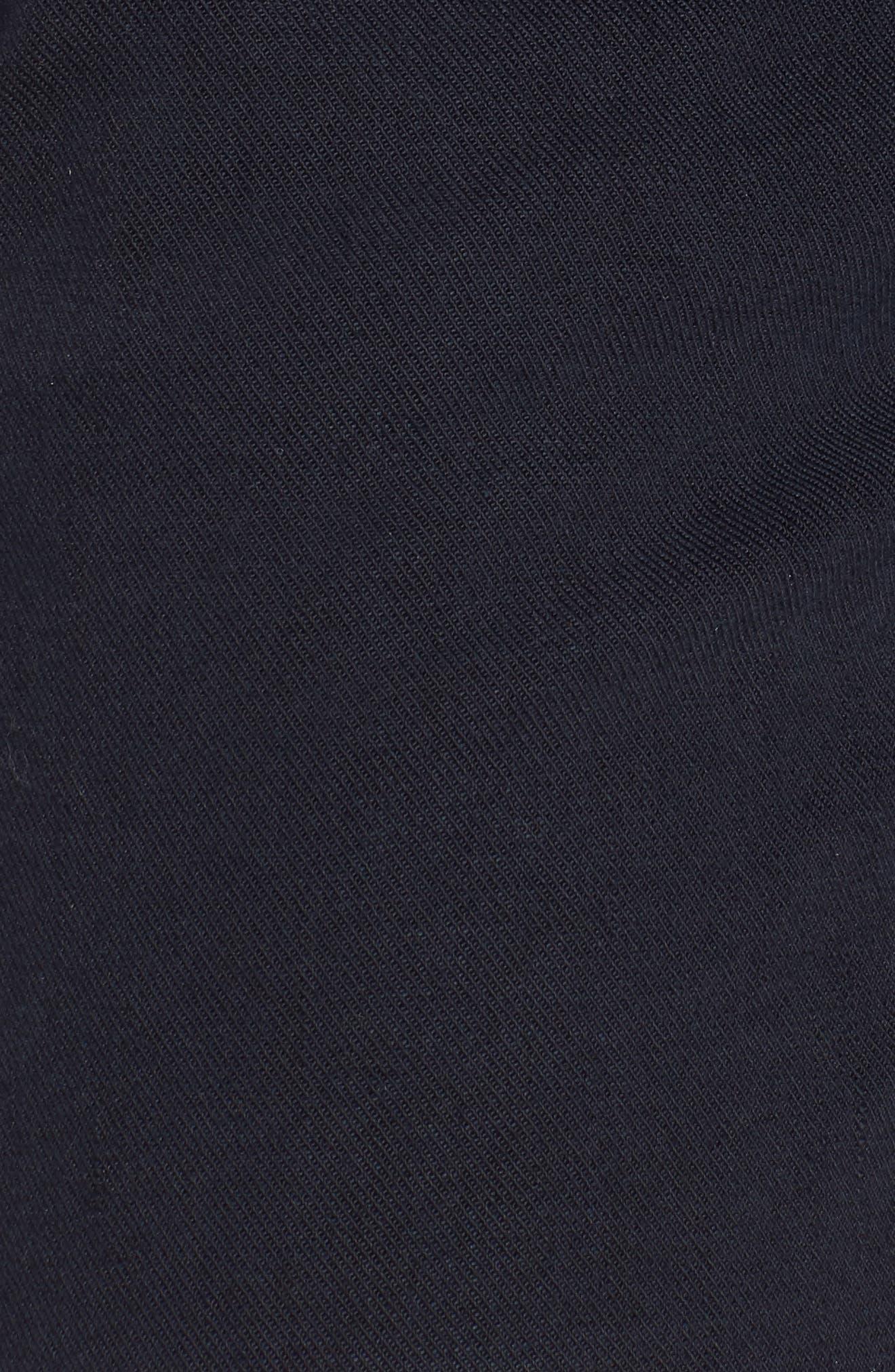 The Bermuda Prep Snippet Fray Twill Shorts,                             Alternate thumbnail 5, color,                             Navy