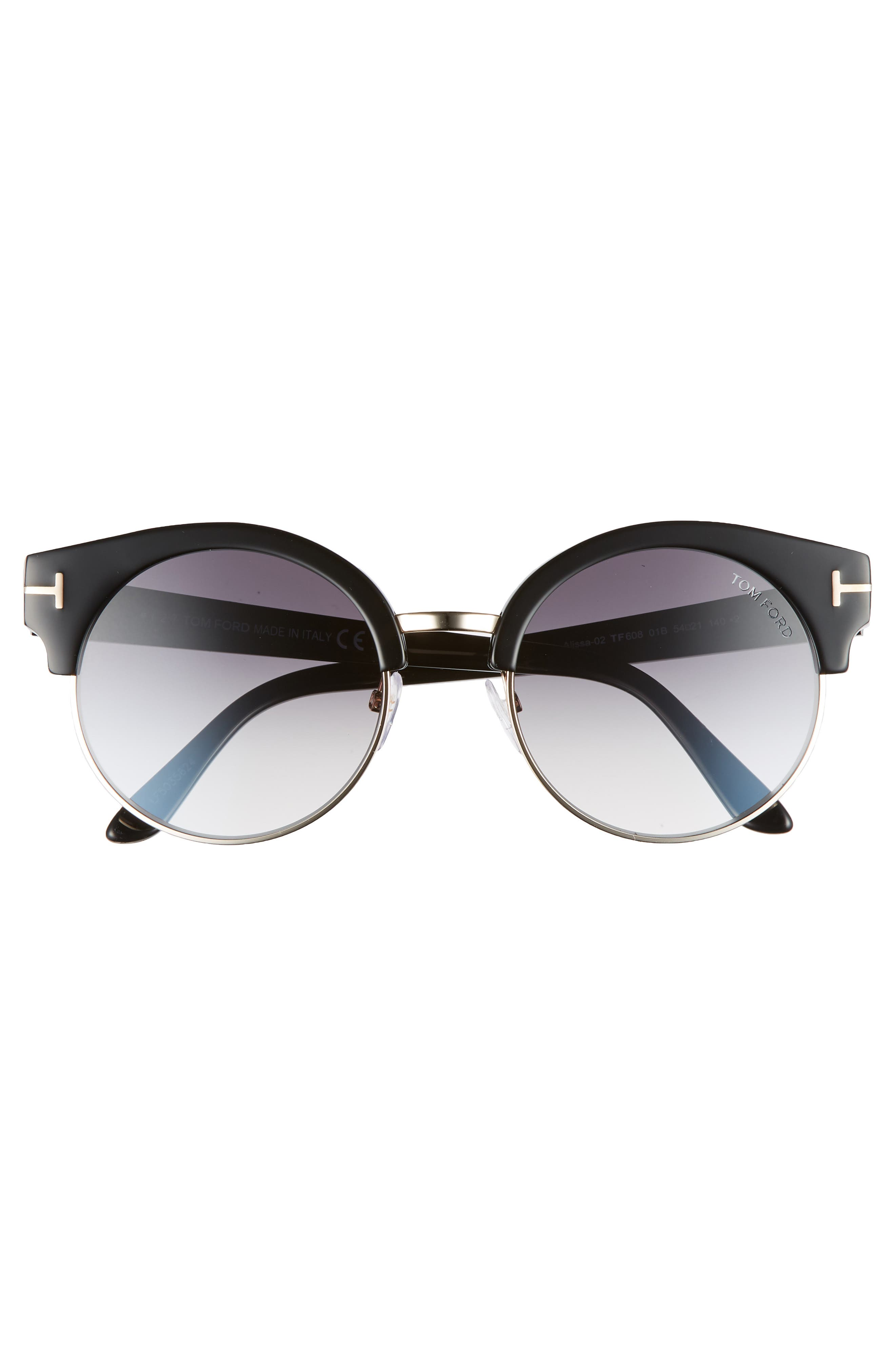 Alternate Image 3  - Tom Ford Alissa 54mm Sunglasses
