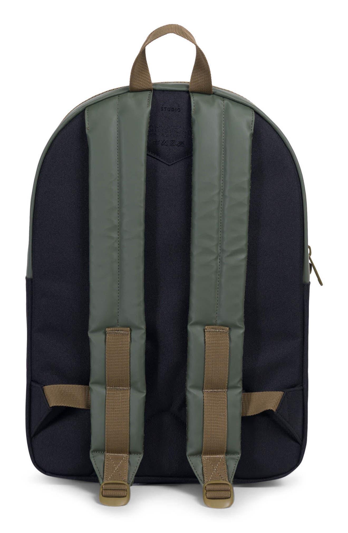 Winlaw Studio Backpack,                             Alternate thumbnail 2, color,                             Beetle Black/ Goth Olive