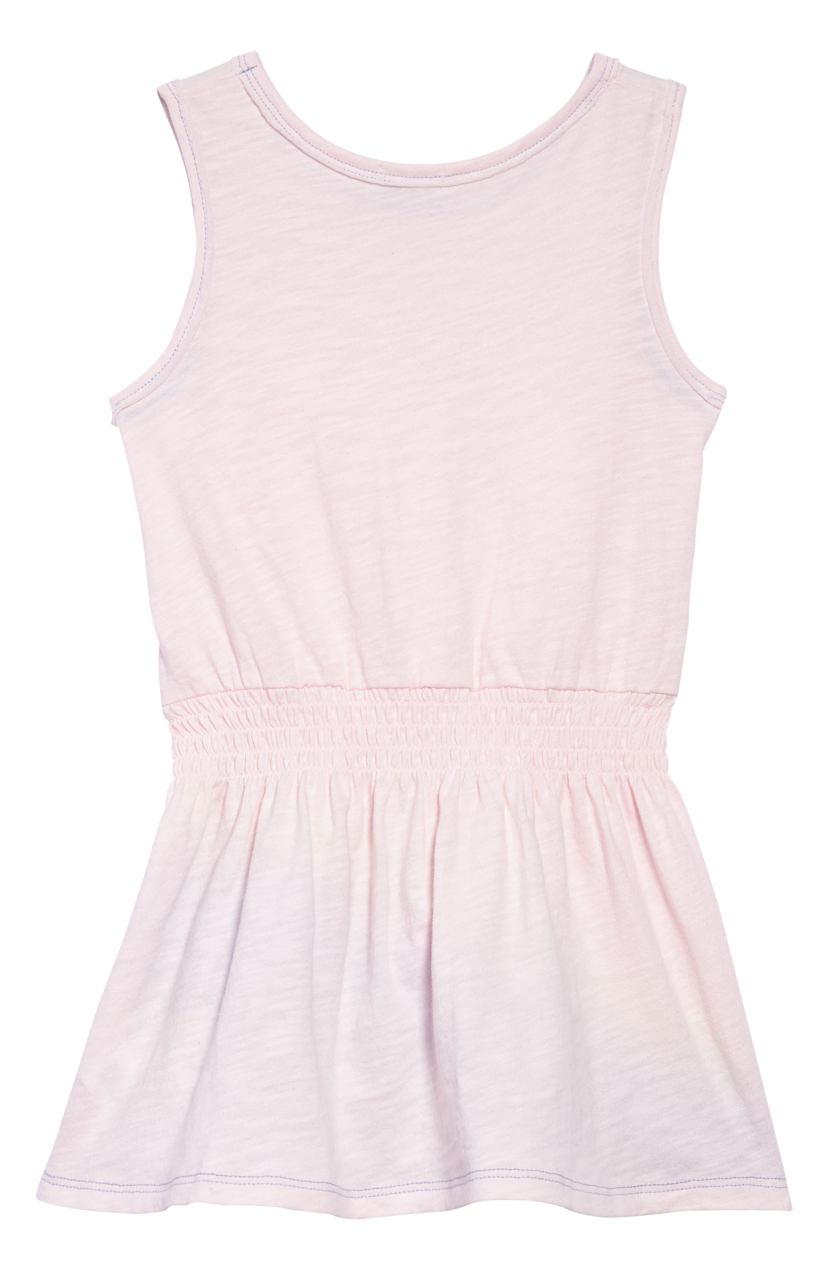 Alternate Image 2  - Splendid Rainbow Stripe Tank Dress (Toddler Girls, Little Girls & Big Girls)