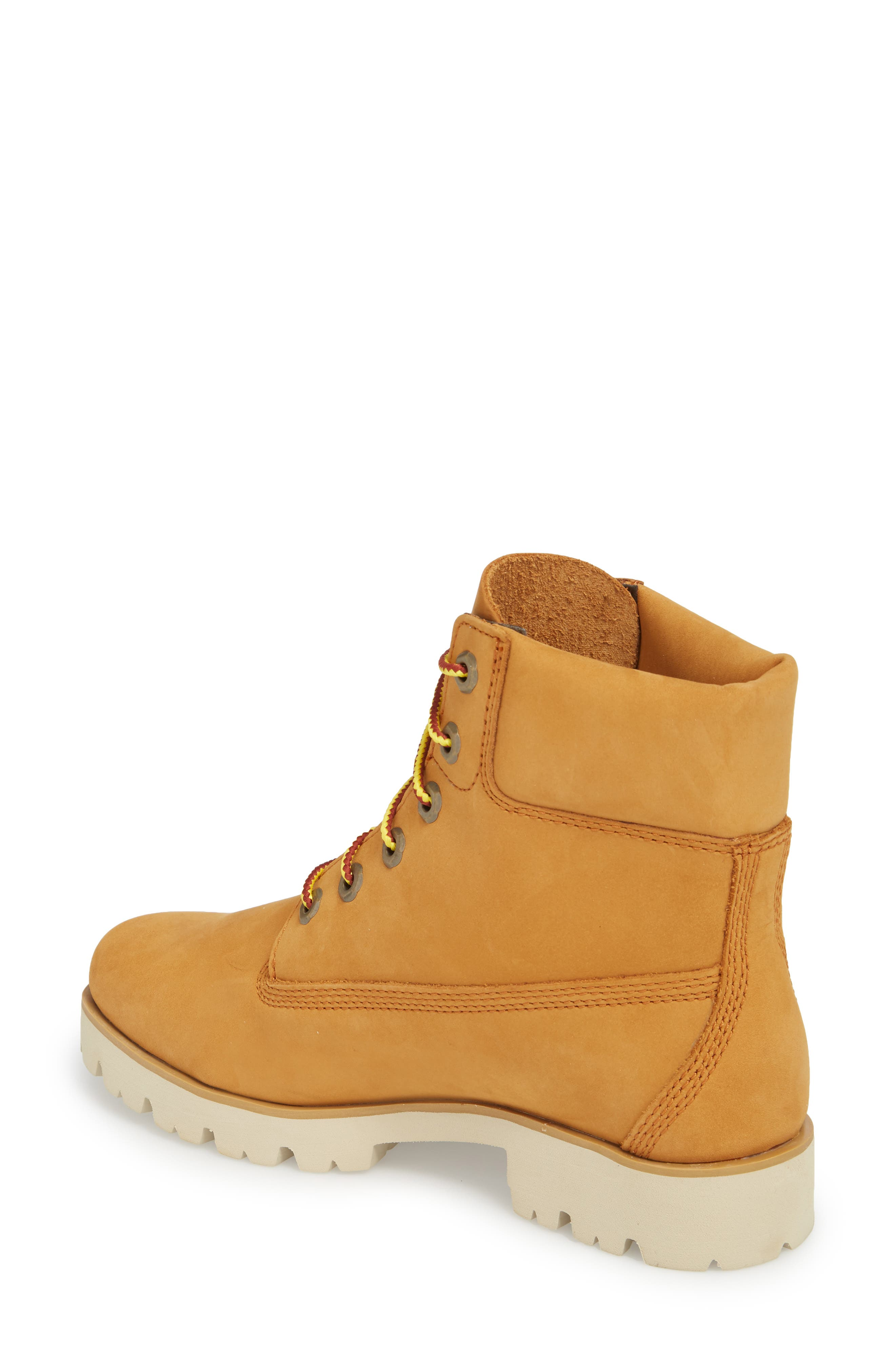 6-Inch Heritage Lite Water-Resistant Boot,                             Alternate thumbnail 2, color,                             Wheat Nubuck