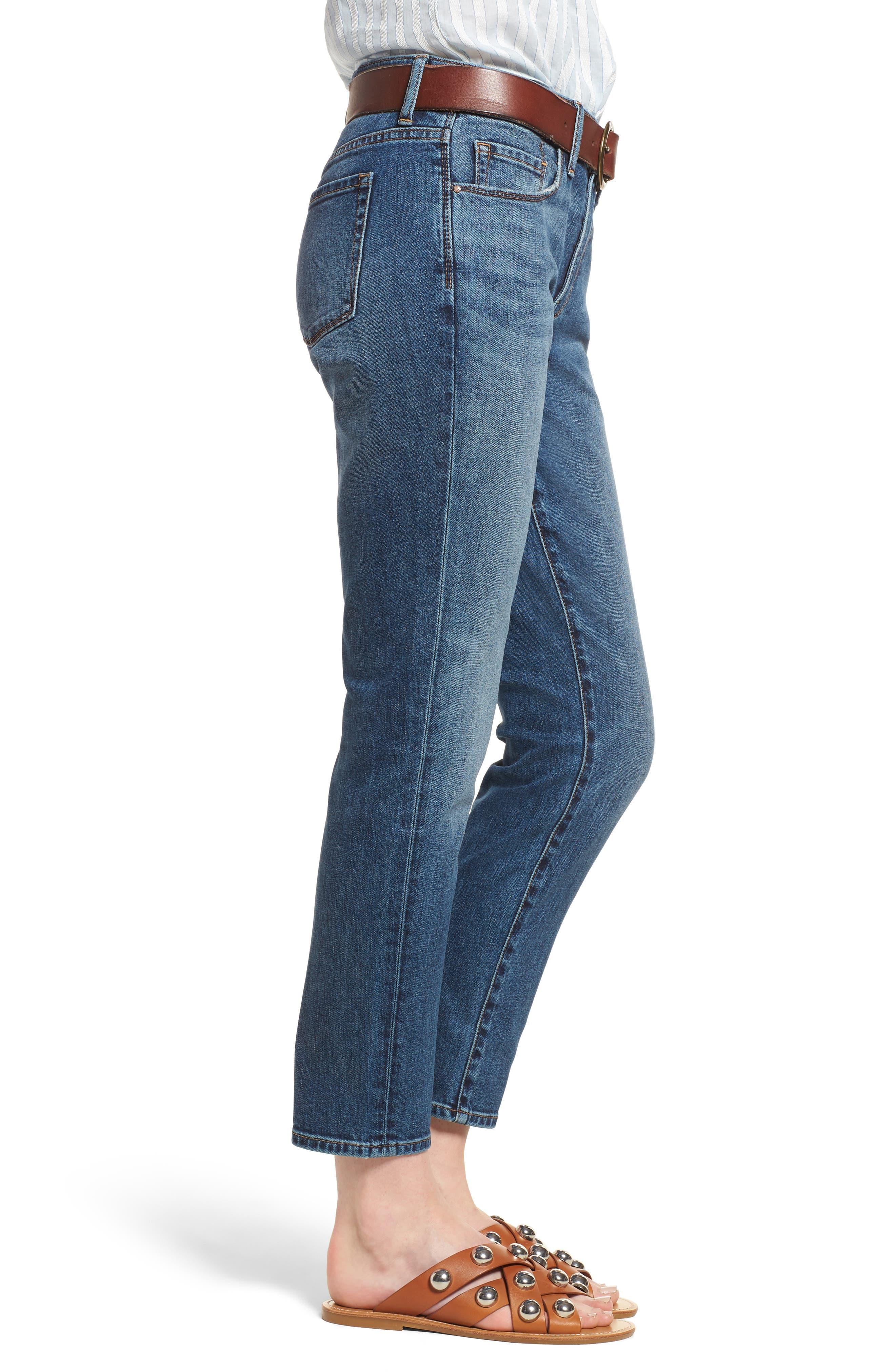 Alternate Image 3  - Treasure & Bond Grant Ankle Boyfriend Jeans (Gravel Dusk Vintage)