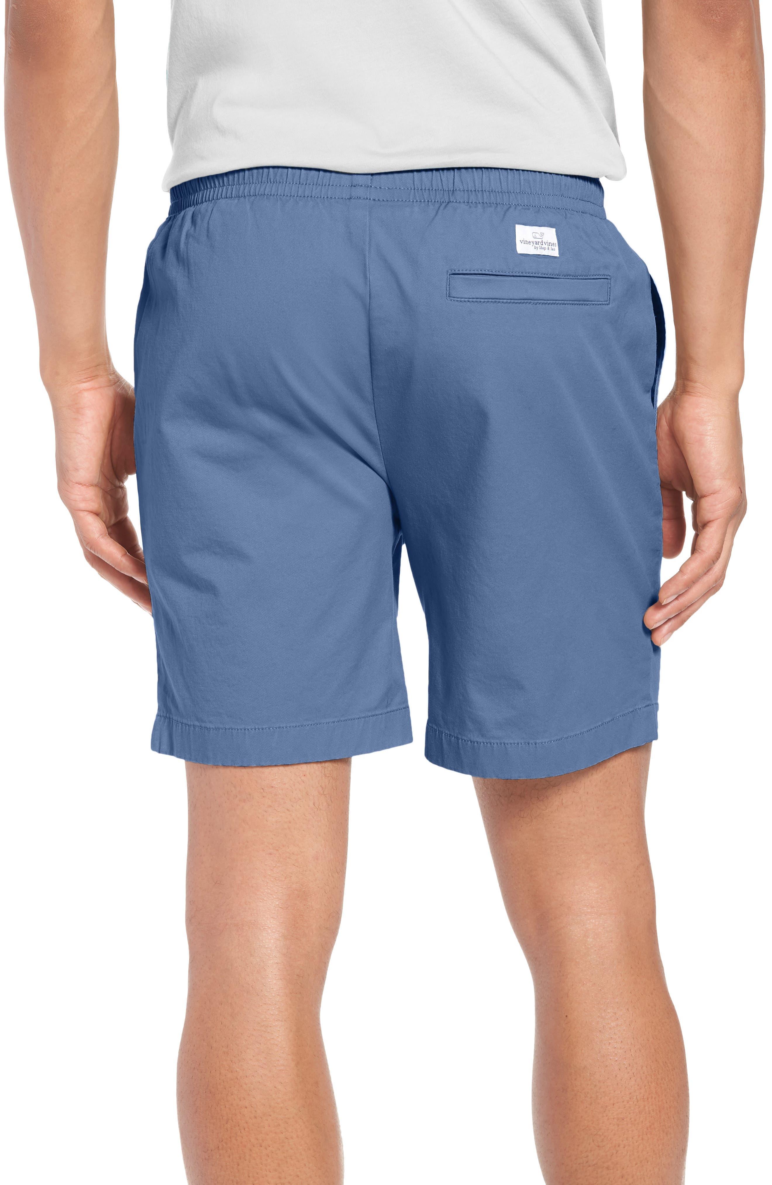 Jetty Stretch Cotton Shorts,                             Alternate thumbnail 2, color,                             Moonshine