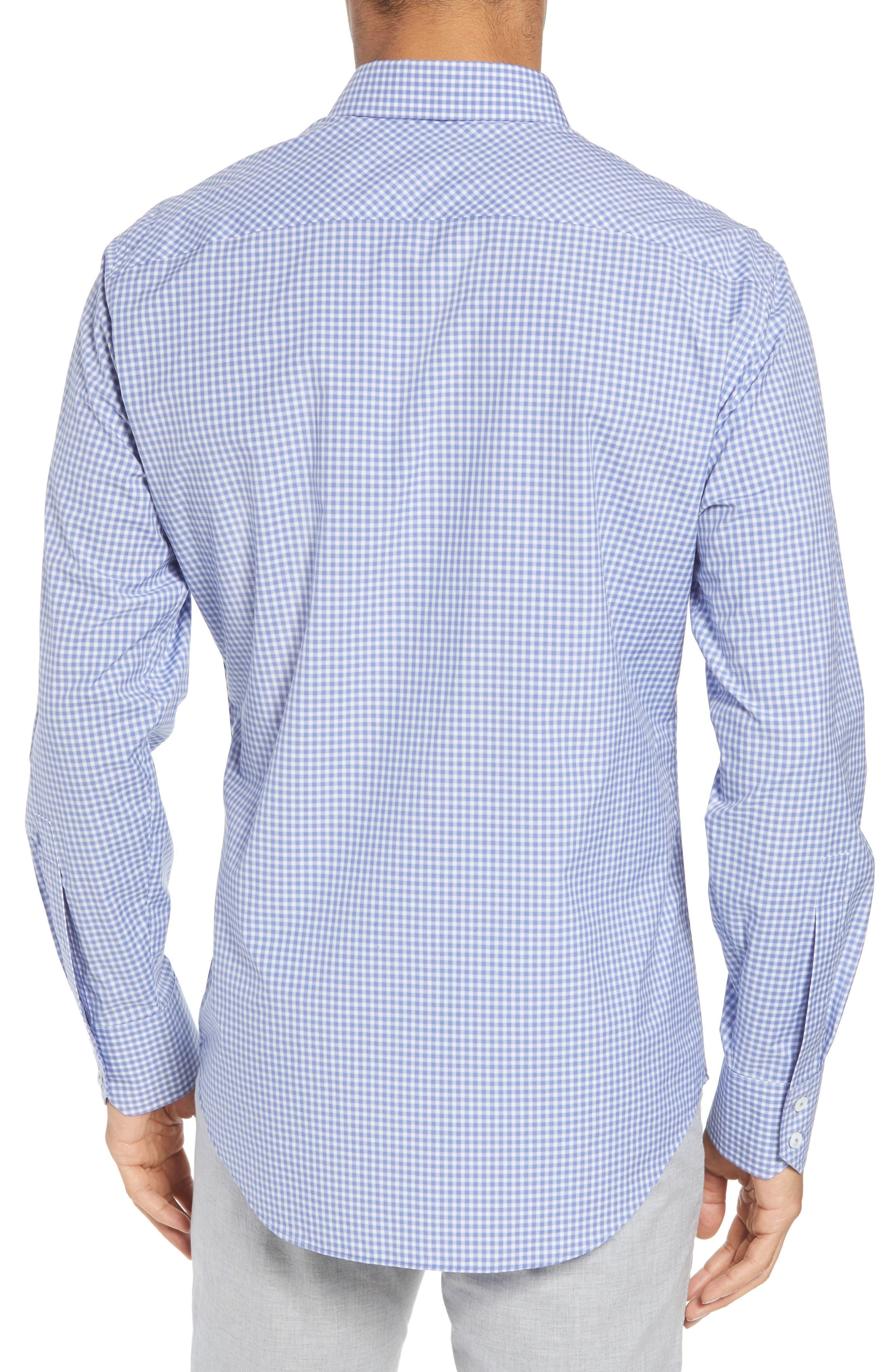 Winston Regular Fit Sport Shirt,                             Alternate thumbnail 2, color,                             Ocean