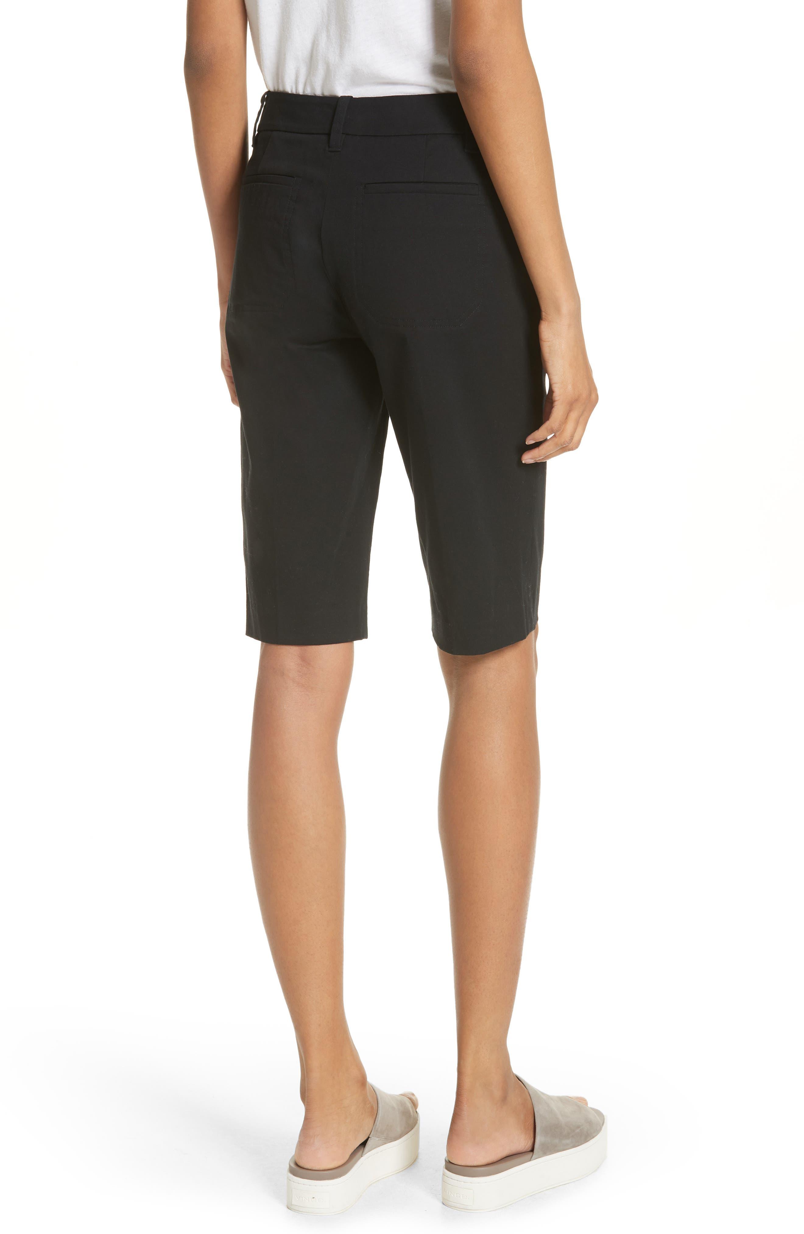 Bermuda Shorts,                             Alternate thumbnail 2, color,                             Black