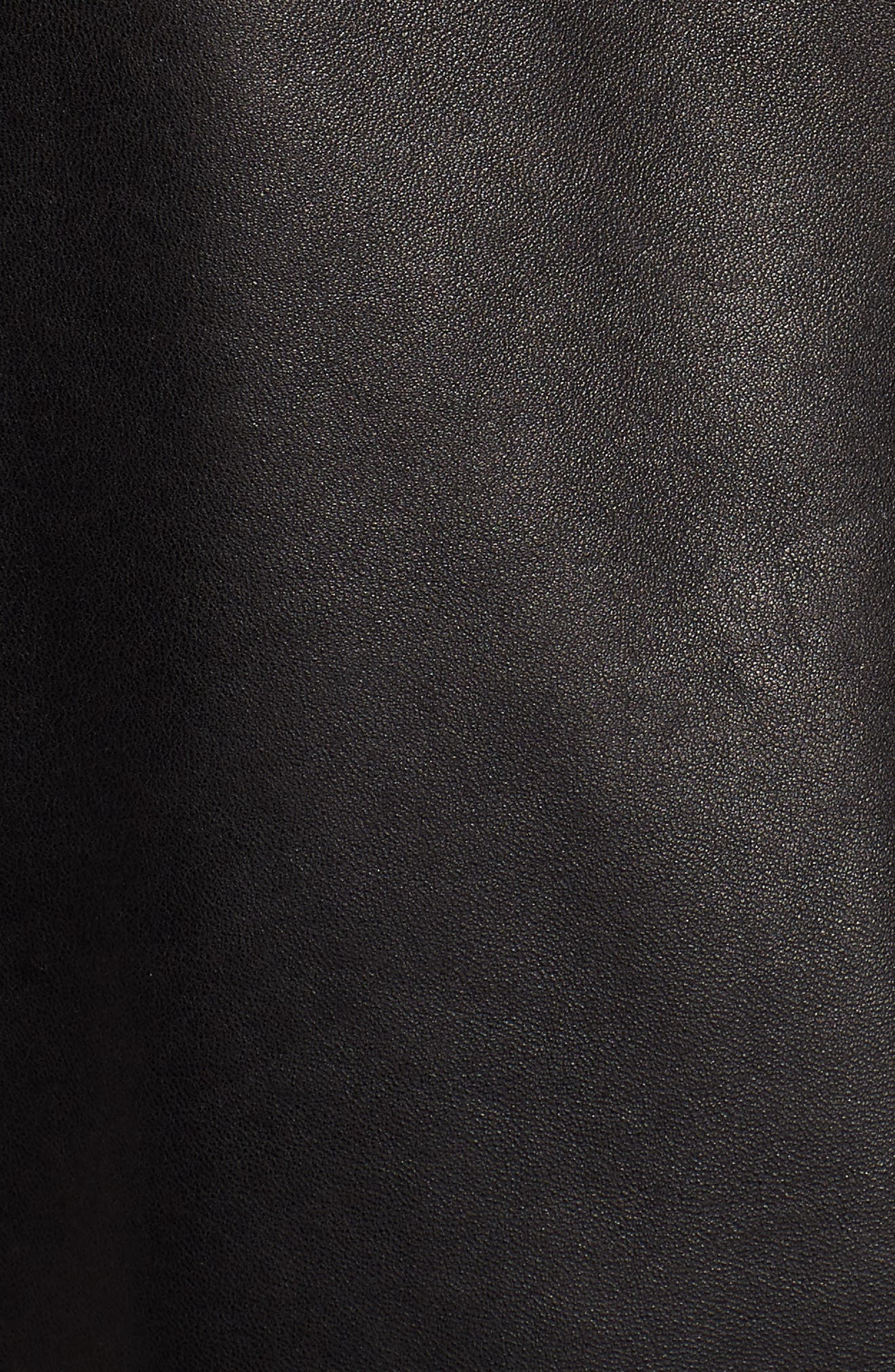 Alternate Image 5  - Cole Haan Lambskin Leather Jacket