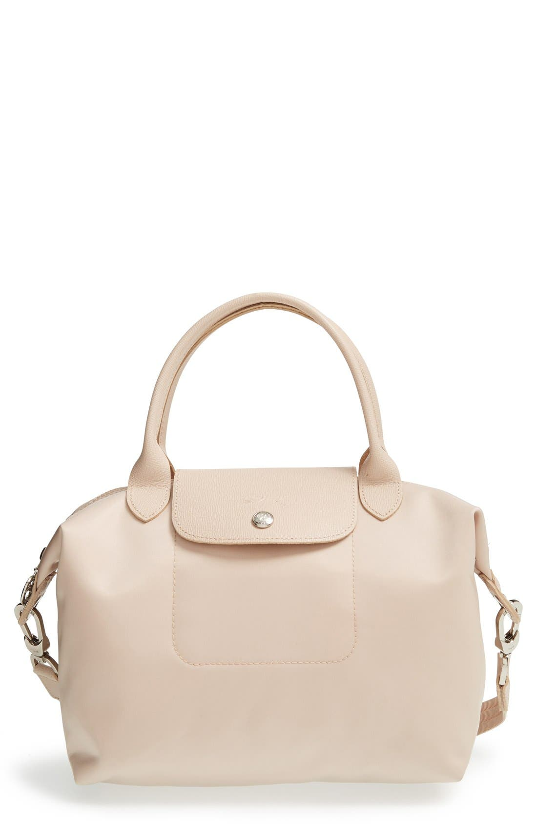 Embroidered Longchamp Le Pliage