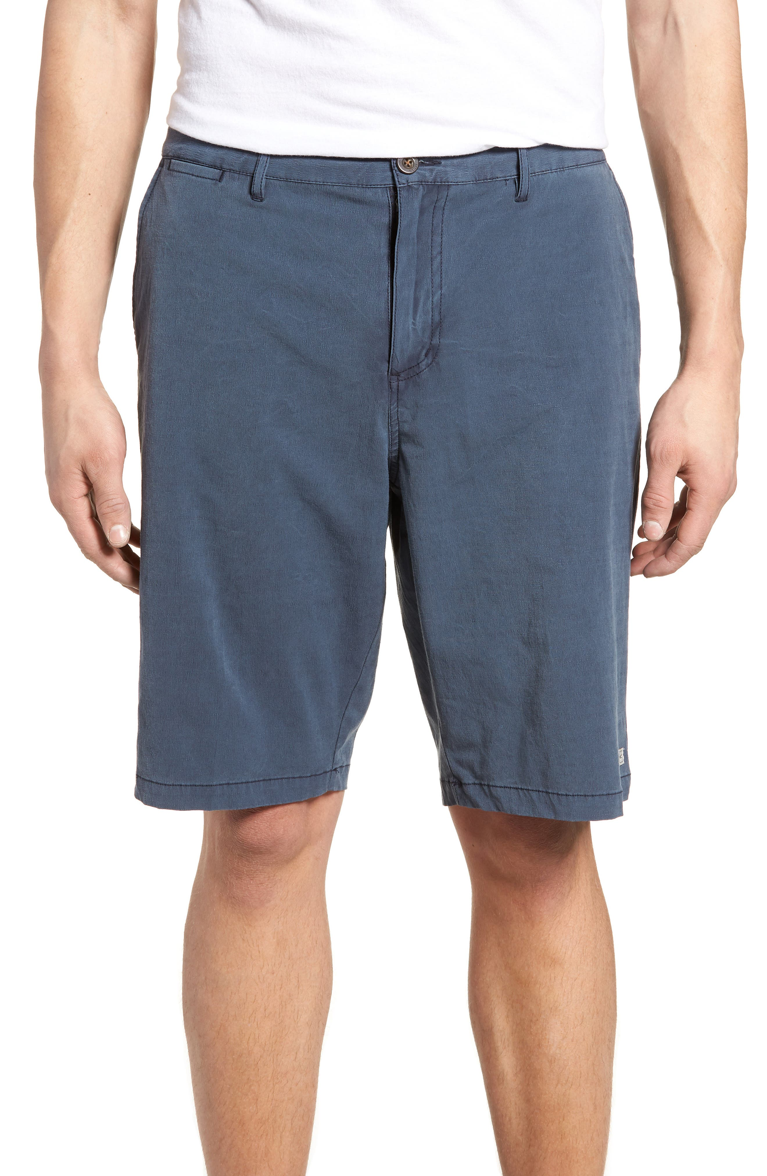 Coast Stretch Board Shorts,                             Main thumbnail 1, color,                             Navy
