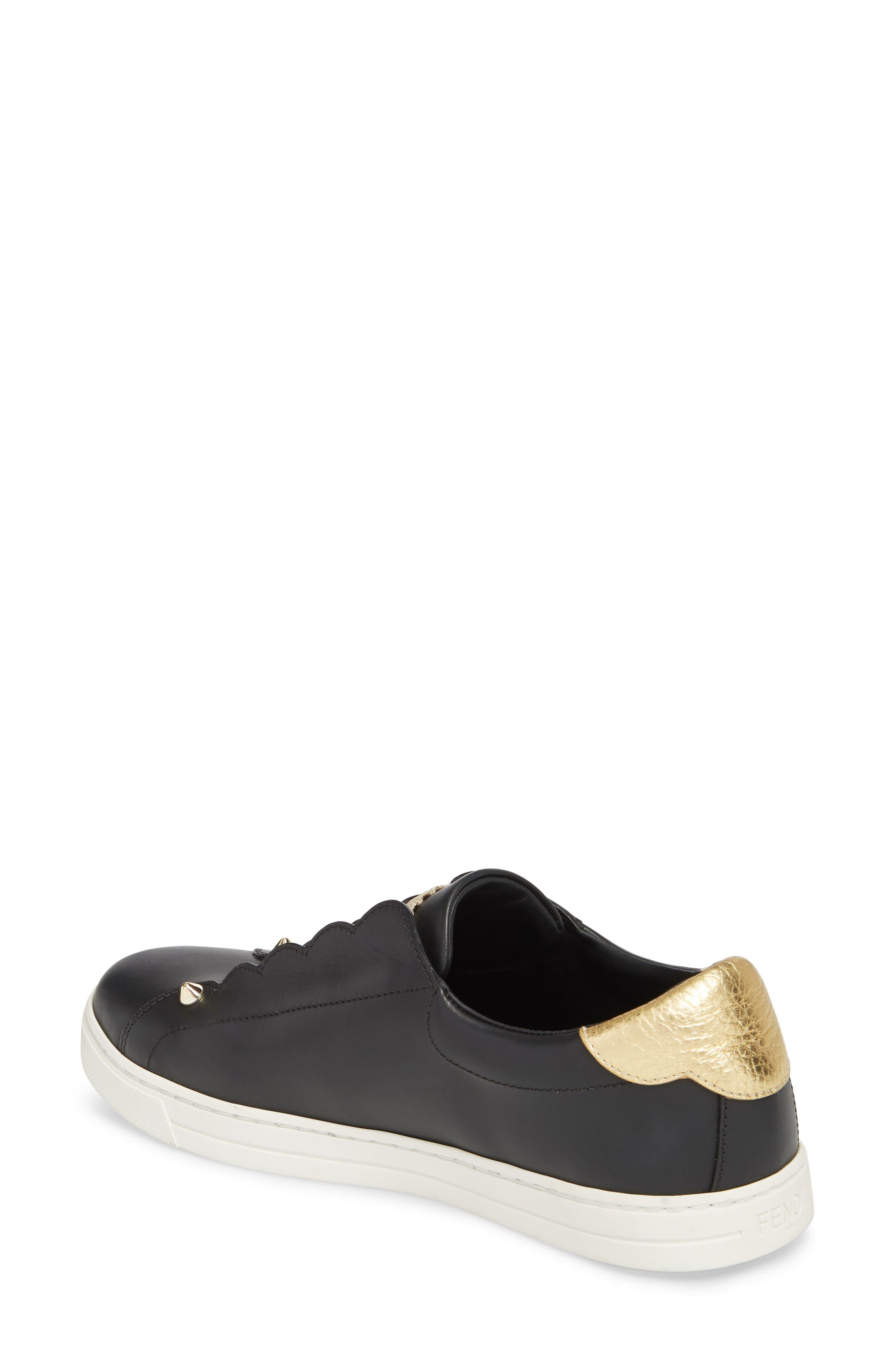 Rockono Slip-On Sneaker,                             Alternate thumbnail 2, color,                             Black