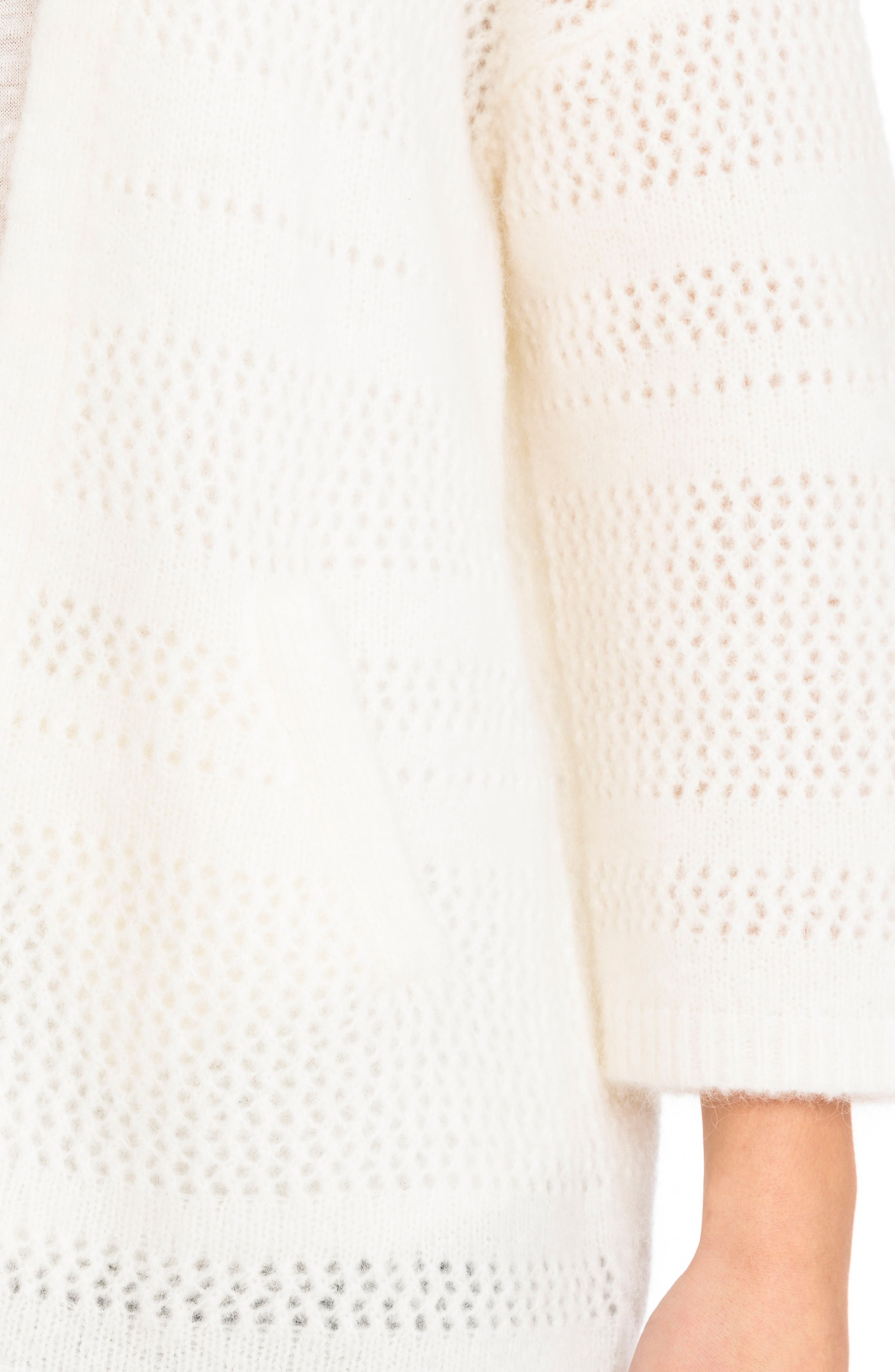 Firmin Cardigan,                             Alternate thumbnail 5, color,                             Off White