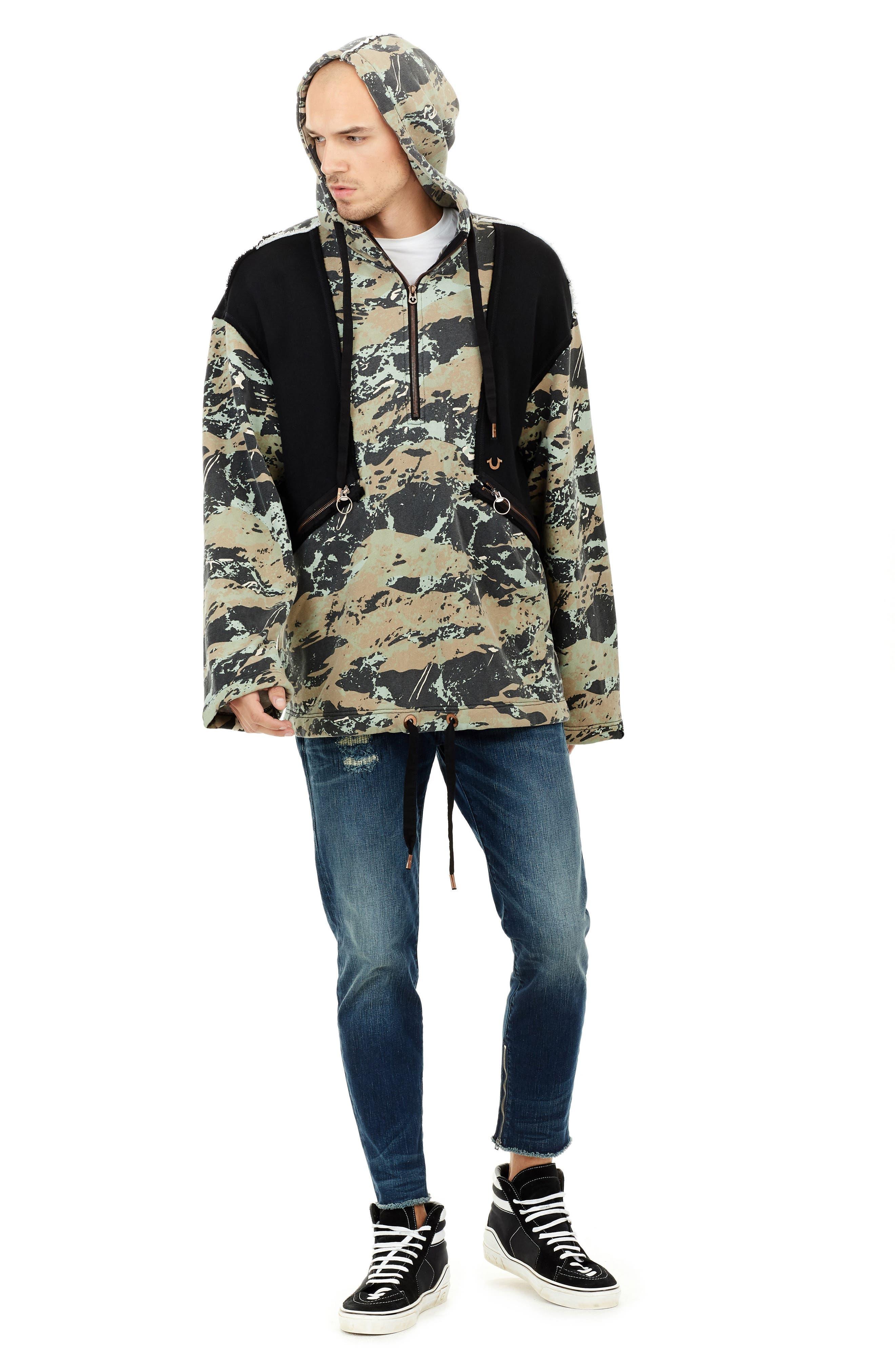 Alternate Image 3  - True Religion Brand Jeans Camo Knit Anorak