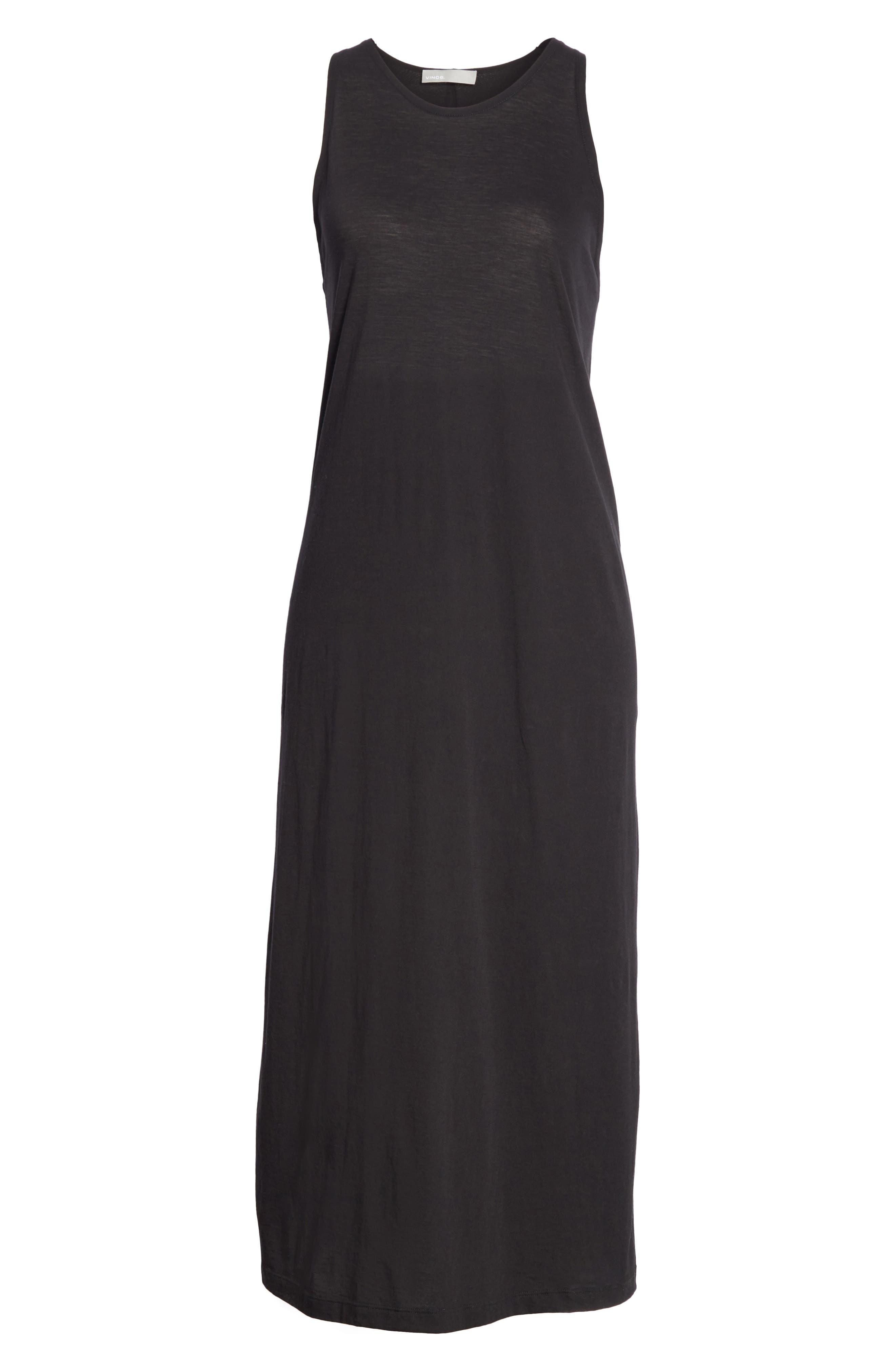 Alternate Image 6  - Vince Twist Back Pima Cotton Dress