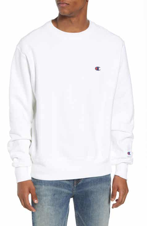 9a29561d7852 Men s White Hoodies   Sweatshirts