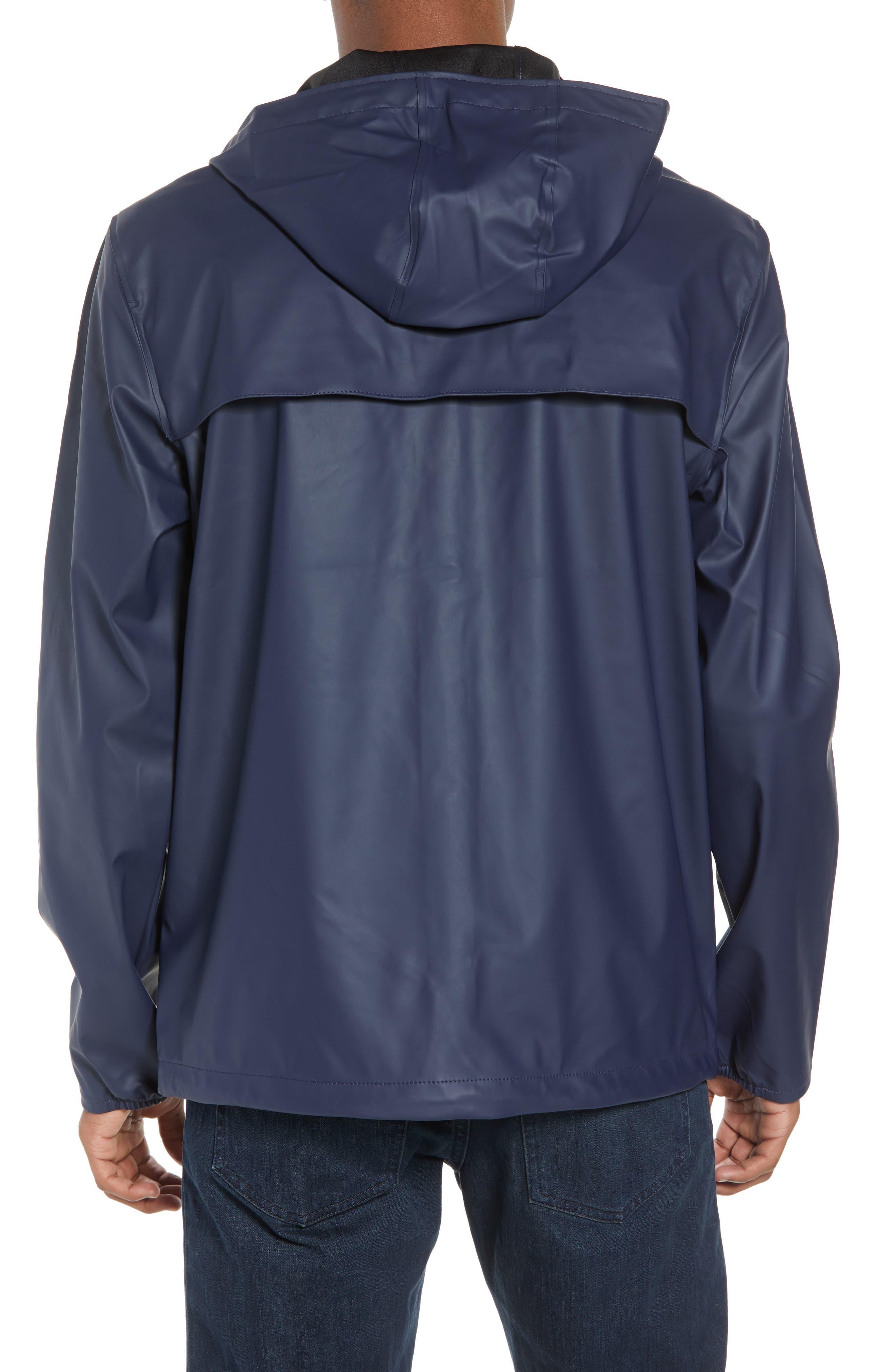 Forecast Hooded Coaches Jacket,                             Alternate thumbnail 2, color,                             Peacoat/ Peacoat