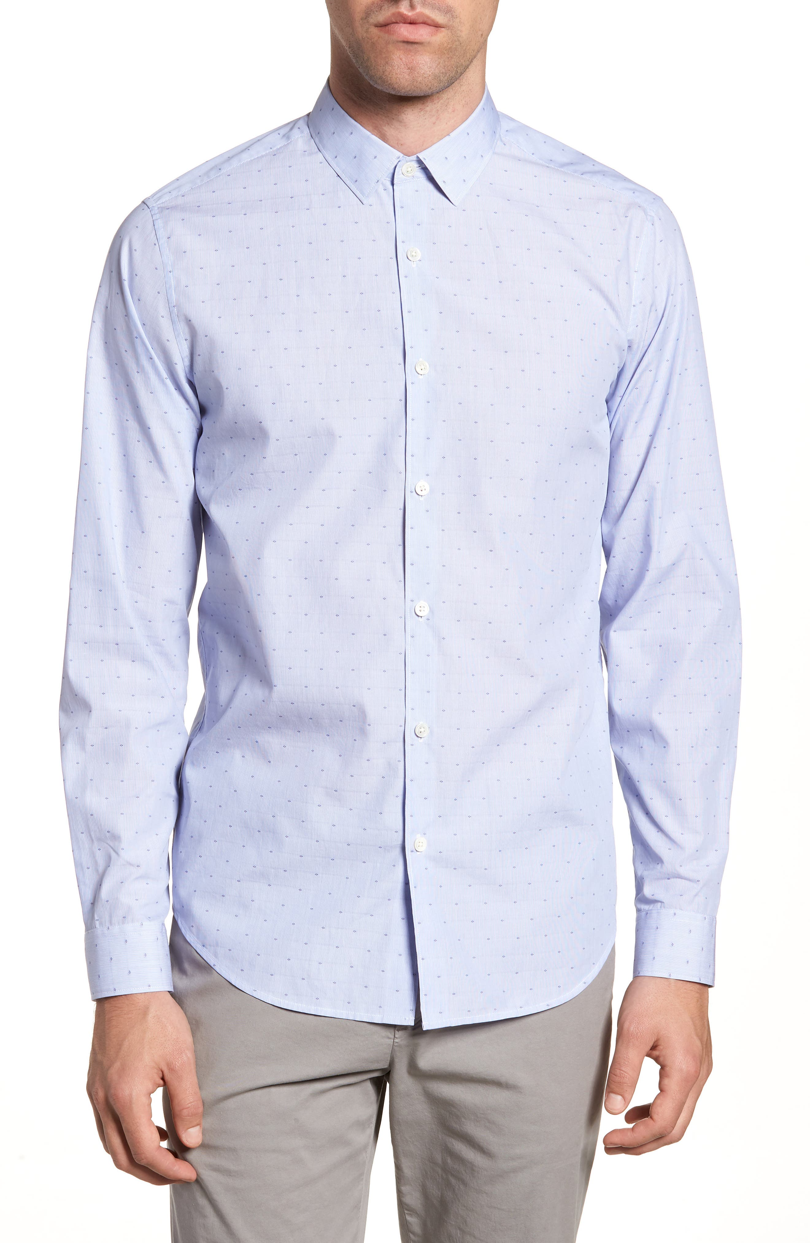 Theory Murrary Coupe Trim Fit Sport Shirt